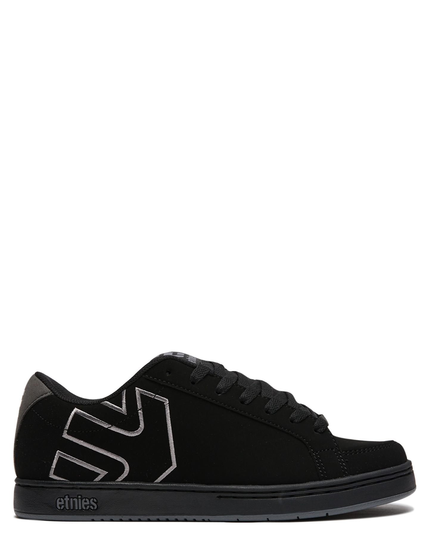 Etnies Mens Kingpin 2 Shoe Black Grey Black