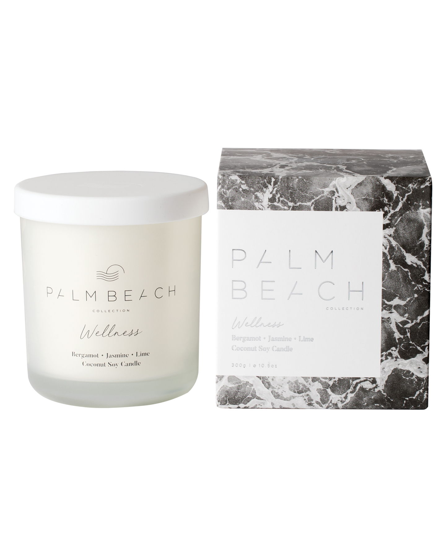 Palm Beach Collection Bergamot Jasmine & Lime Wellness Candle Bergamot Jasmne Bergamot Jasmne