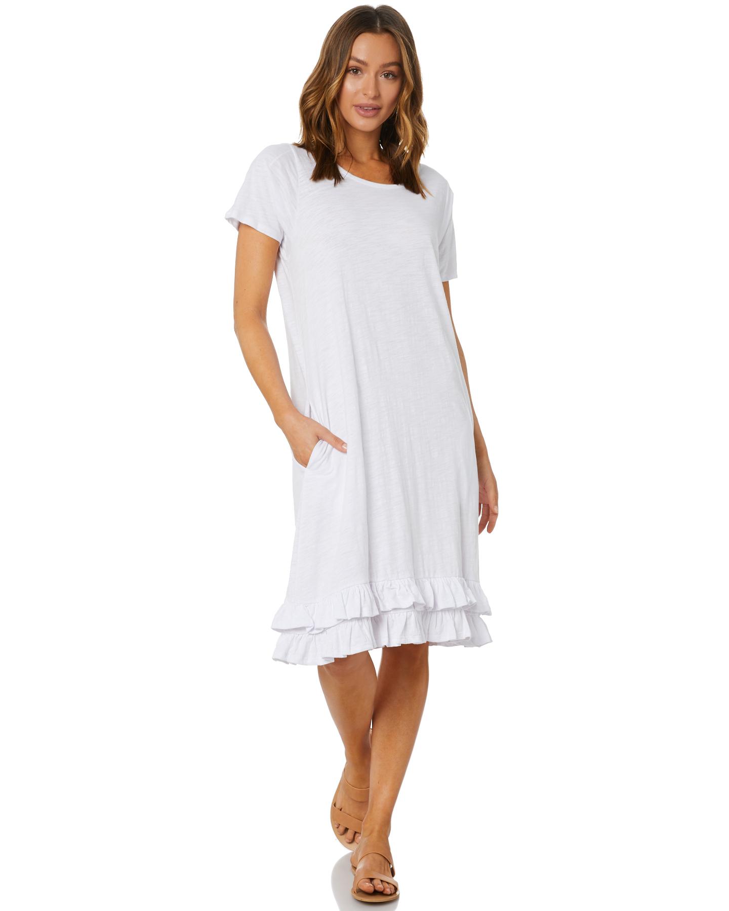 Betty Basics Amber Dress White