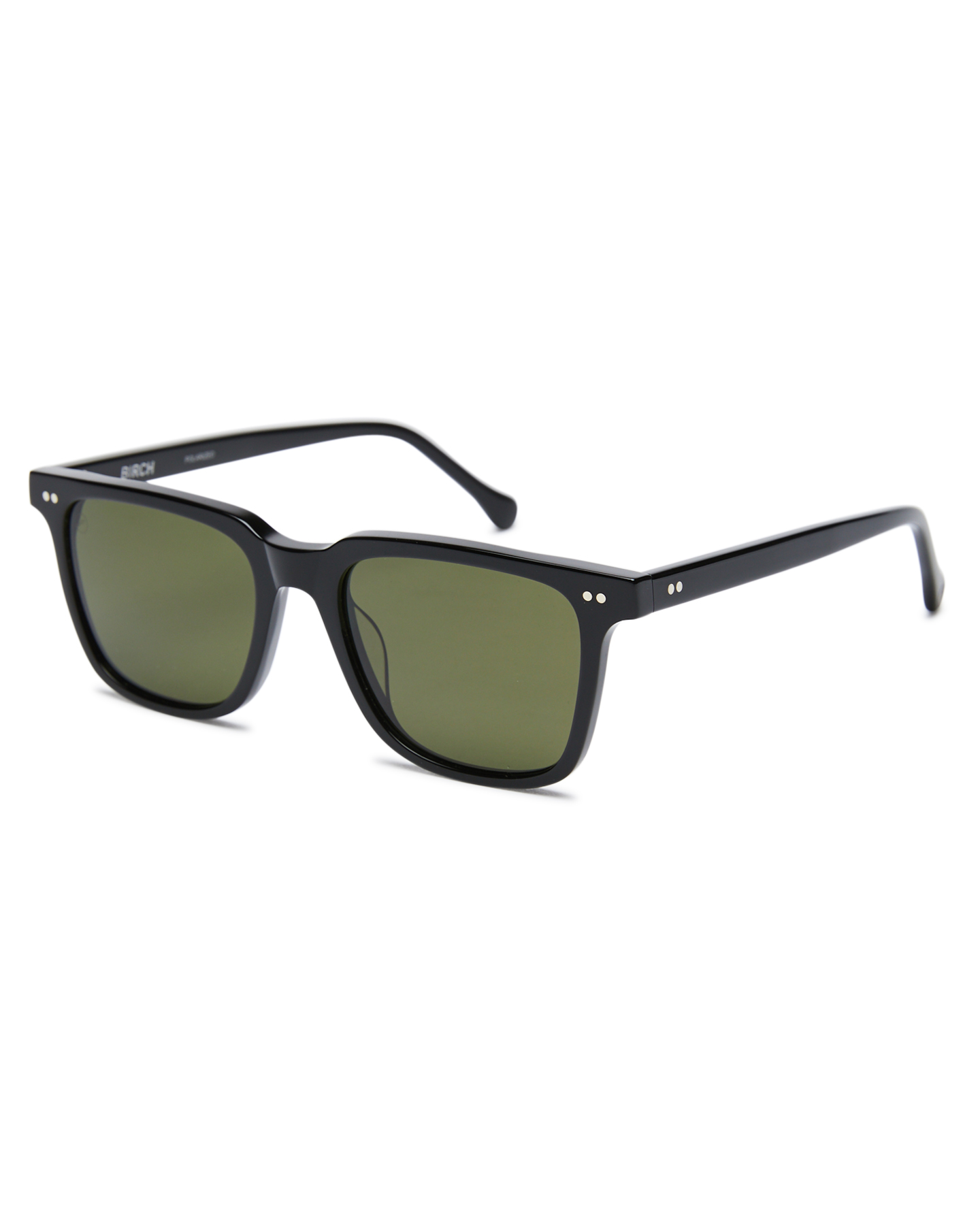 Electric Birch Polarized Sunglasses Gloss Black Grey