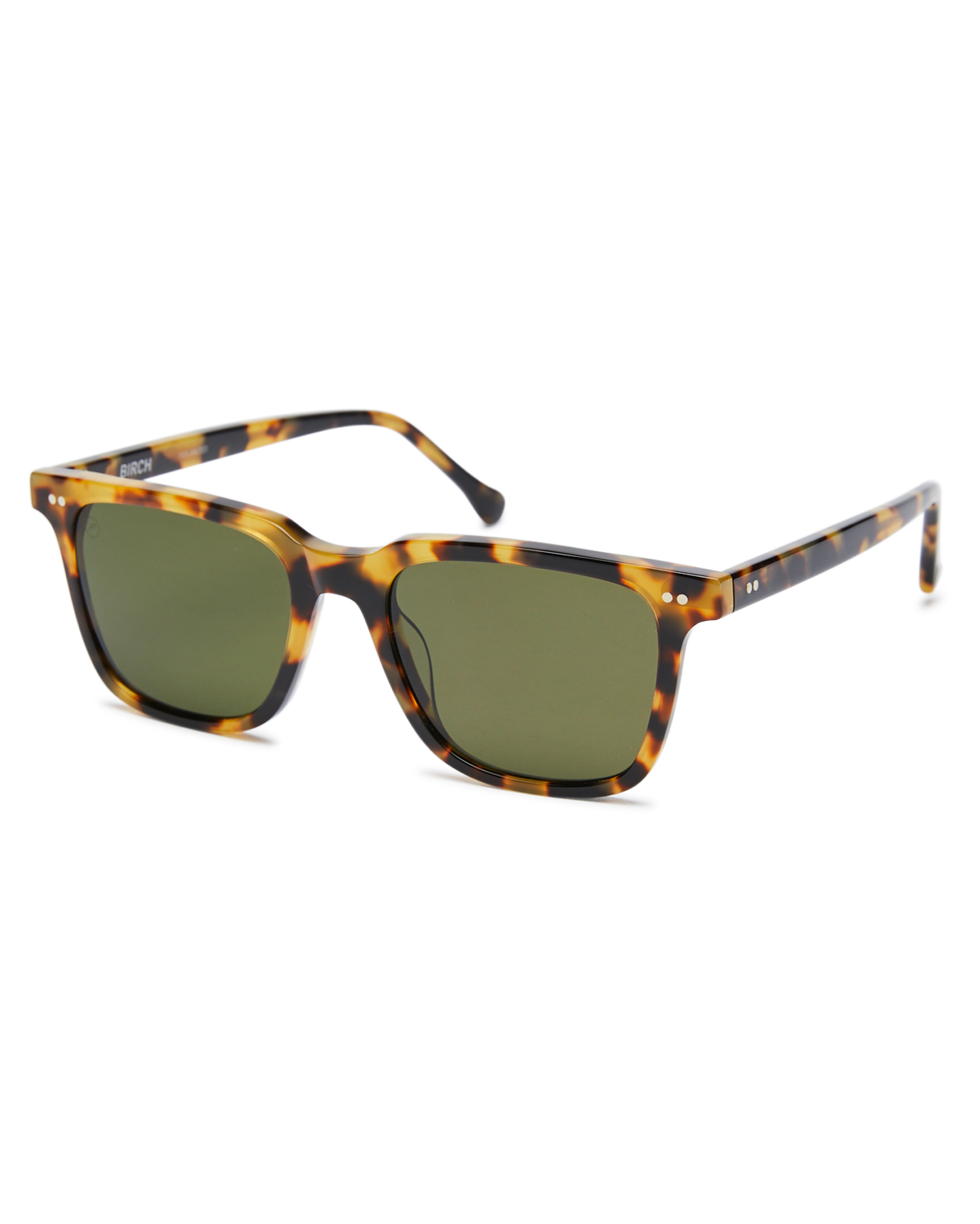 Electric Birch Polarized Sunglasses Gloss Spotted Tort Gloss Spotted Tort