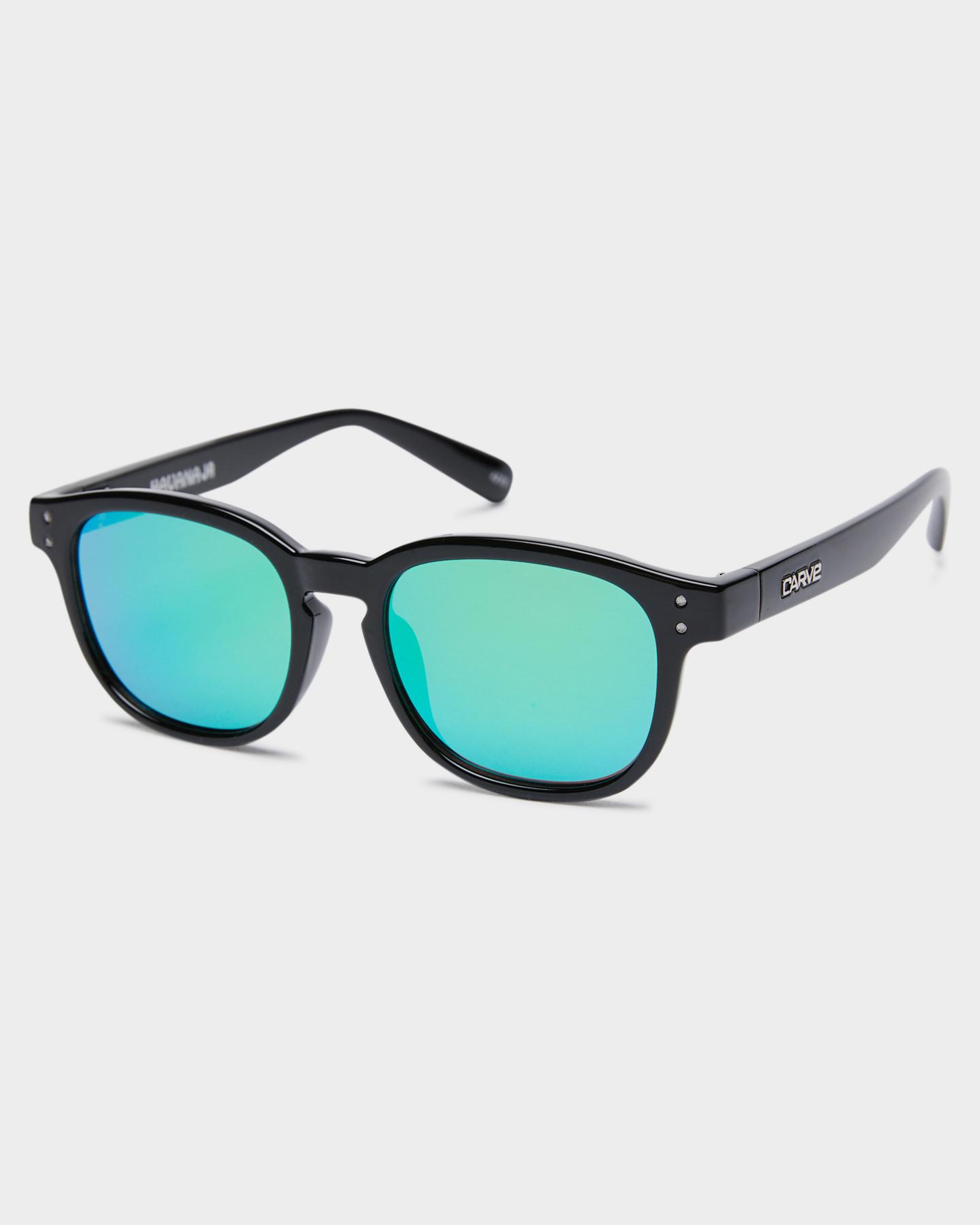 Carve Kids Havana Jr Sunglasses Gloss Black