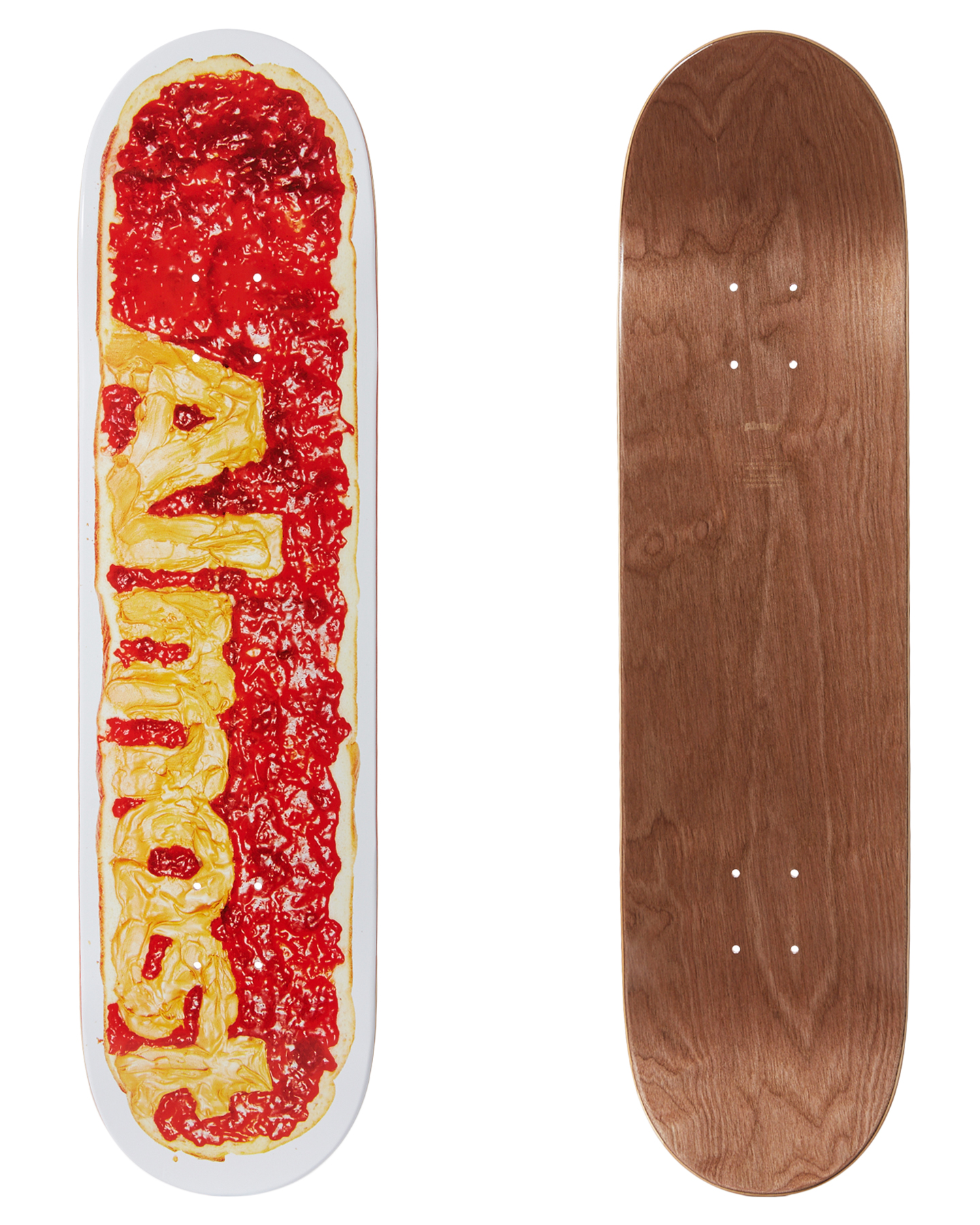 Almost Pb And J 8 Inch Deck Strawberry Strawberry