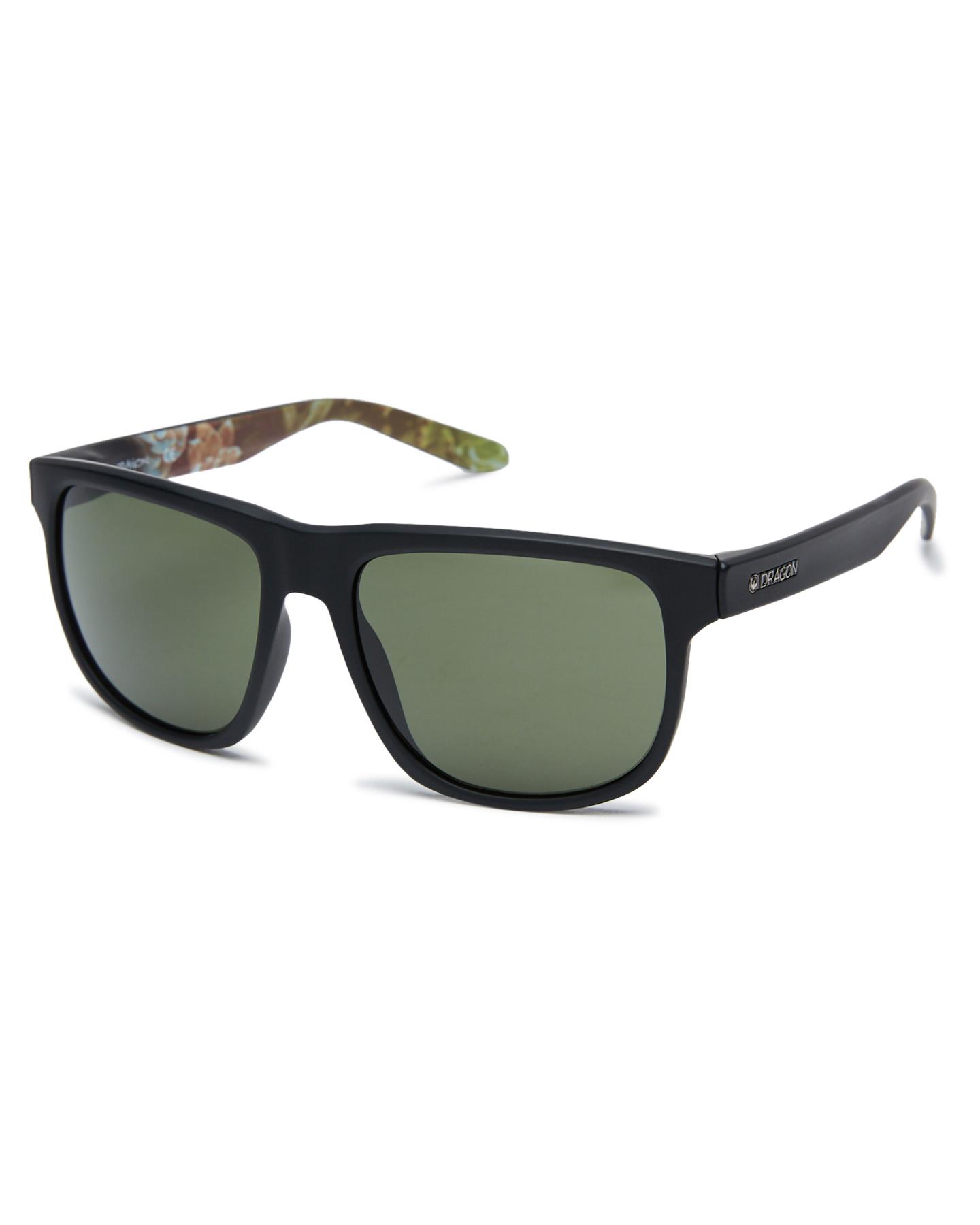 Dragon Sesh Sunglasses Matte Blk Succulent Matte Blk Succulent