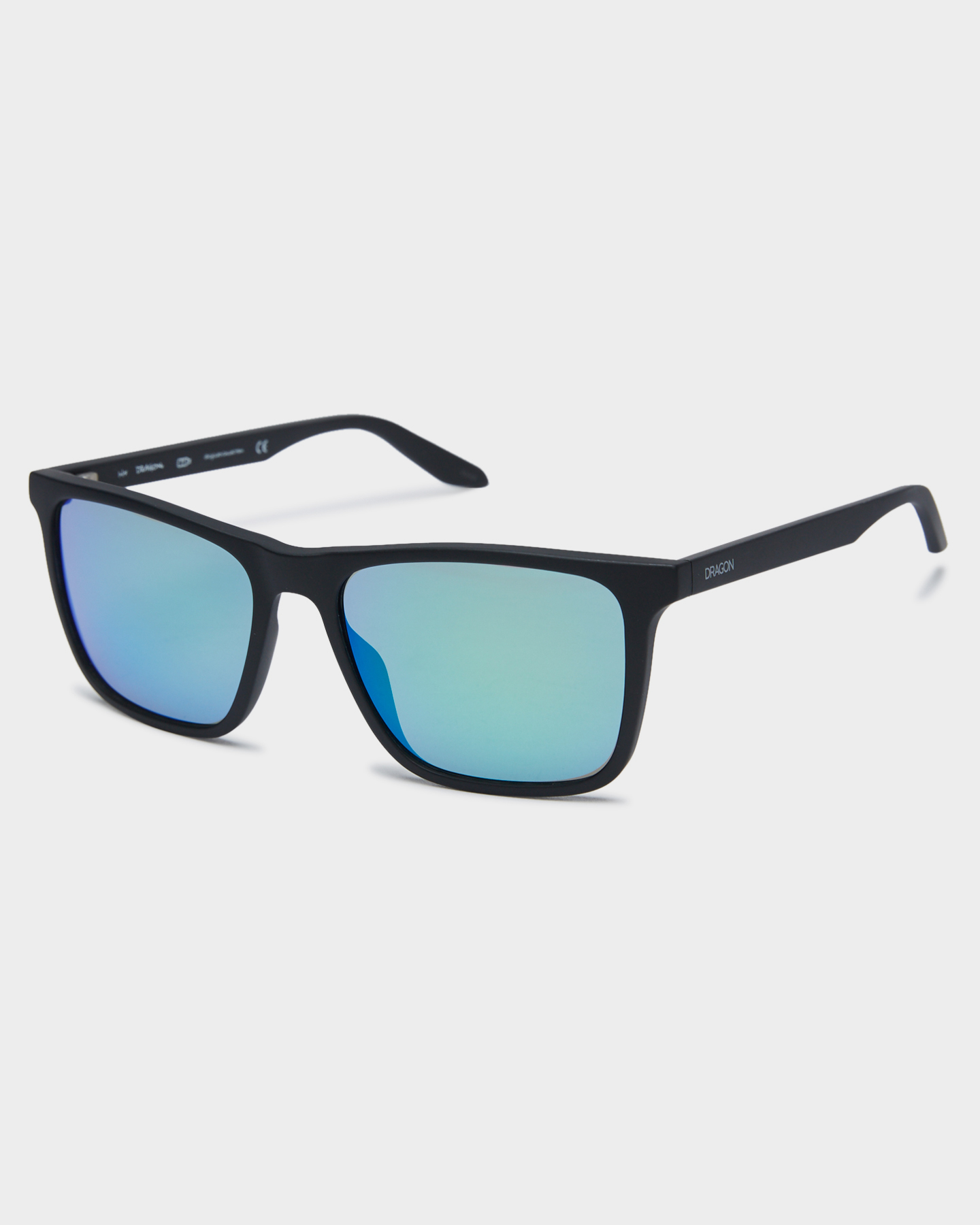 Dragon Renew Sunglasses Matte Blk Green Ion Matte Blk Green Ion
