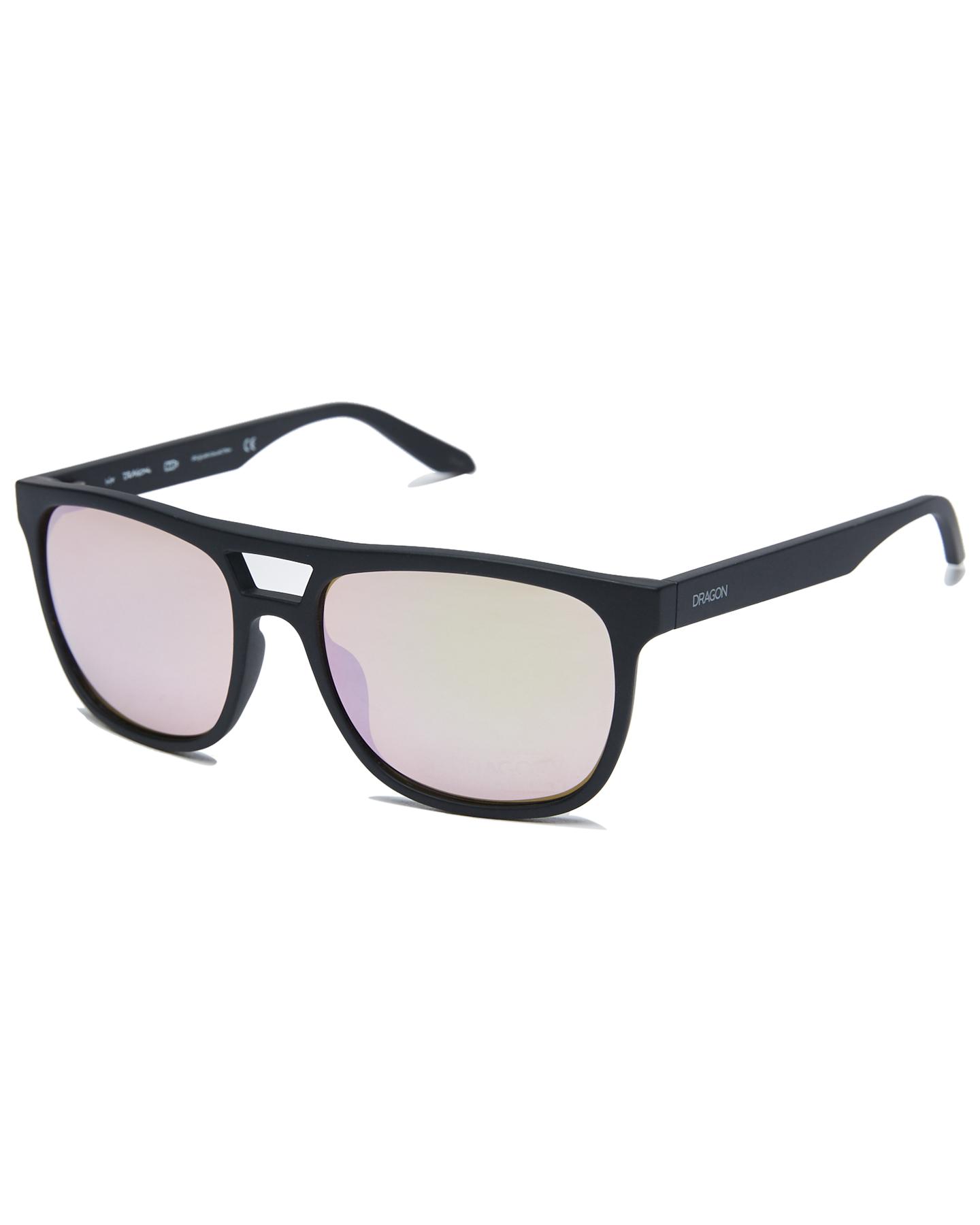 Dragon Cove Sunglasses Matte Black Rg Ion