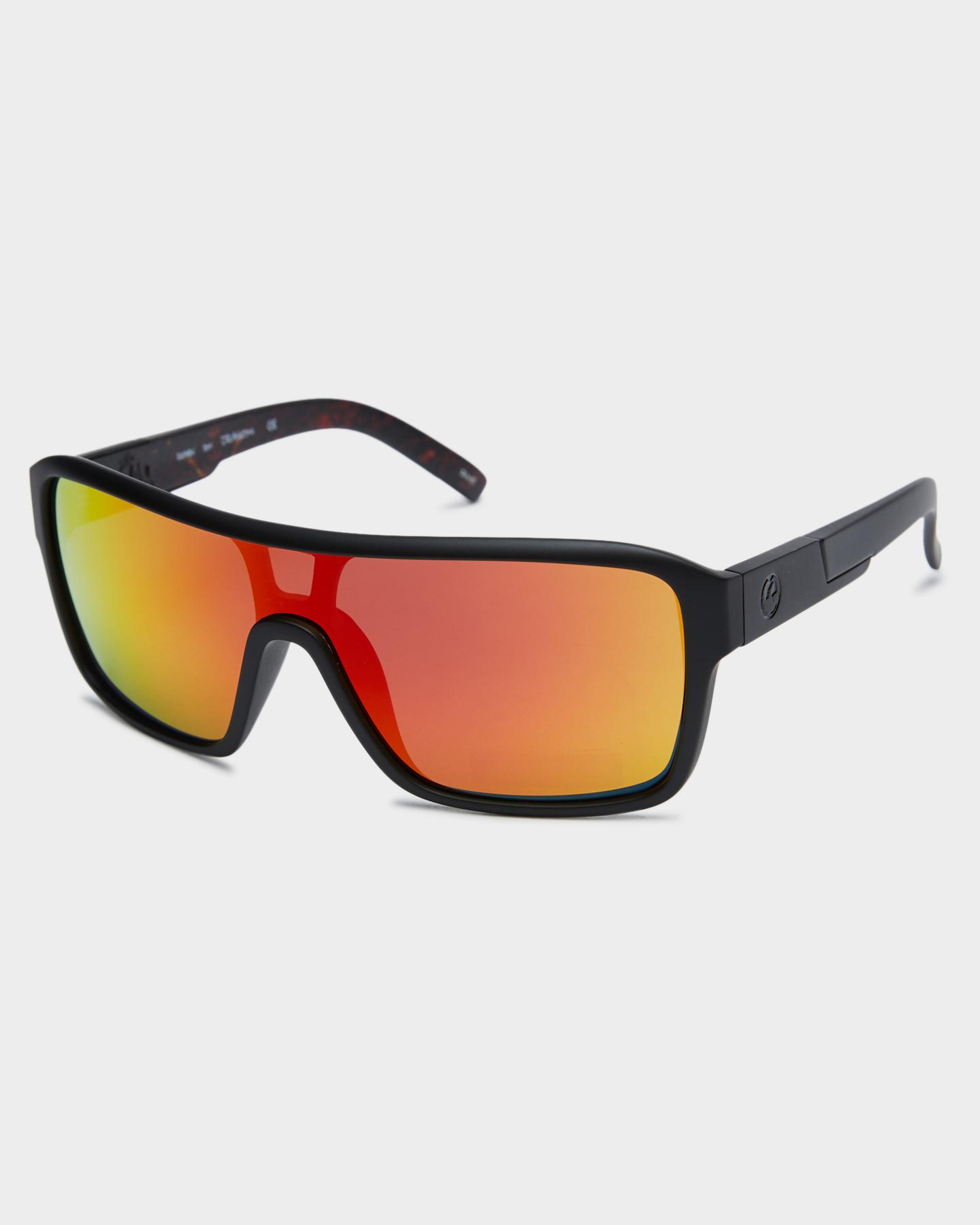 Dragon Remix Sunglasses Matte Blk Infrno Ion Matte Blk Infrno Ion