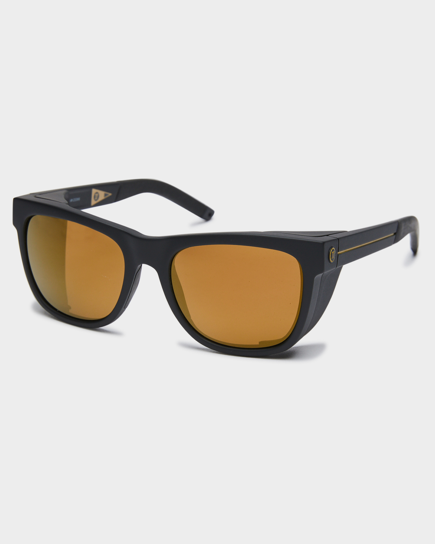 Electric Jjf12 Polarized Sunglasses Matte Black Bronze