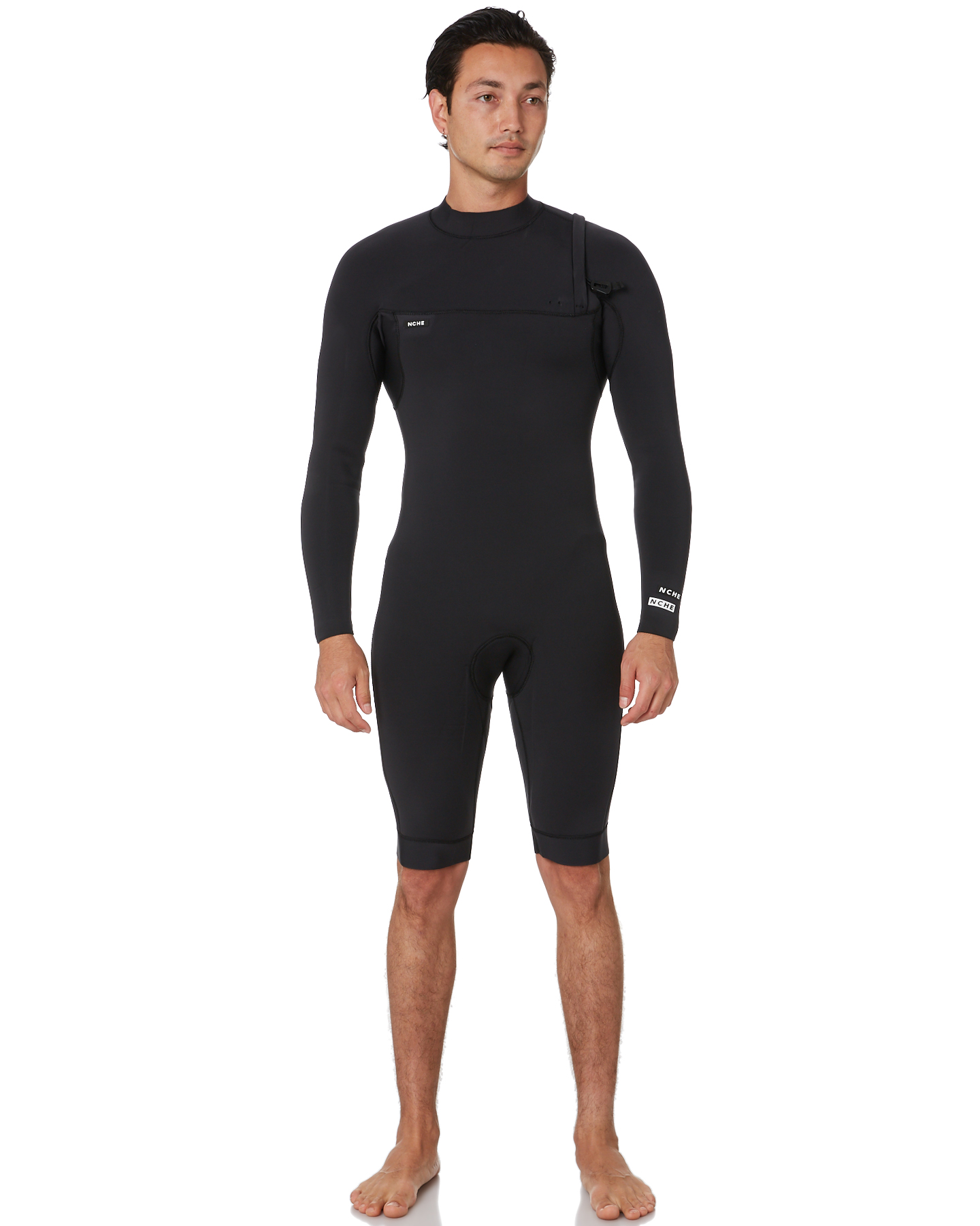 Nche Wetsuits 2X2Mm Long Sleeve Springsuit Black