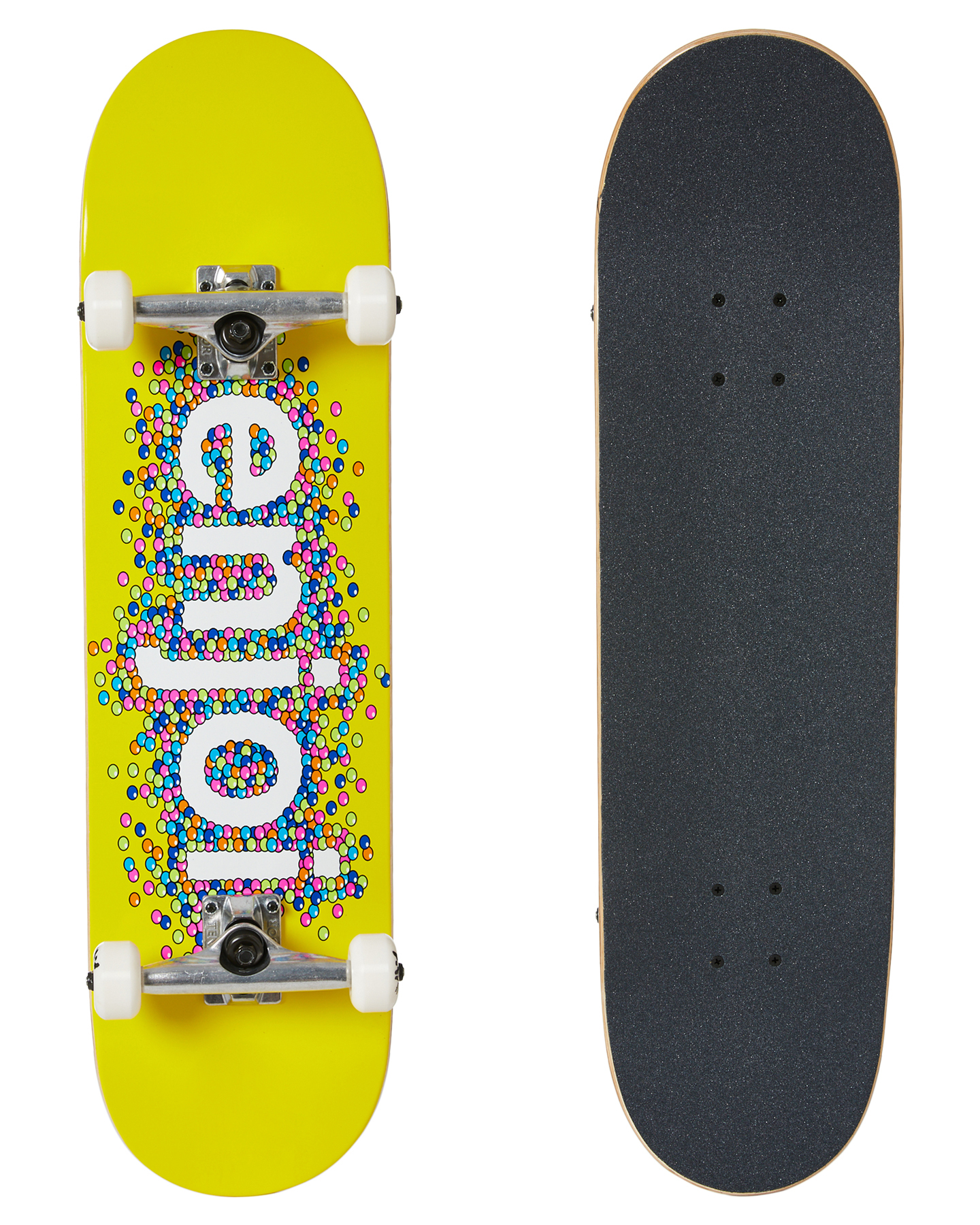Enjoi Candy Coated 8 25 Inch Complete Yellow
