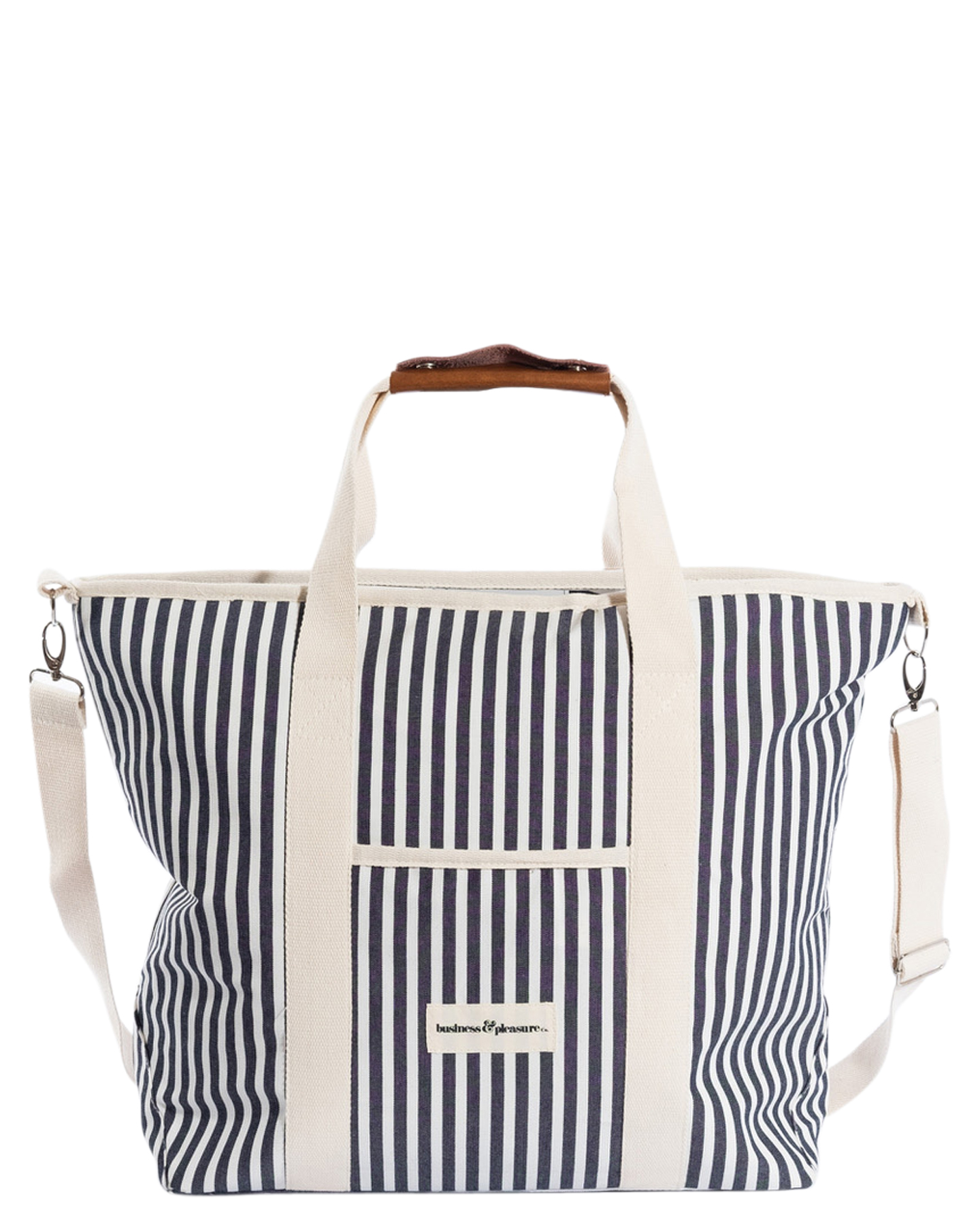 Business And Pleasure Co The Cooler Tote Laurens Navy Stripe Laurens Navy Stripe