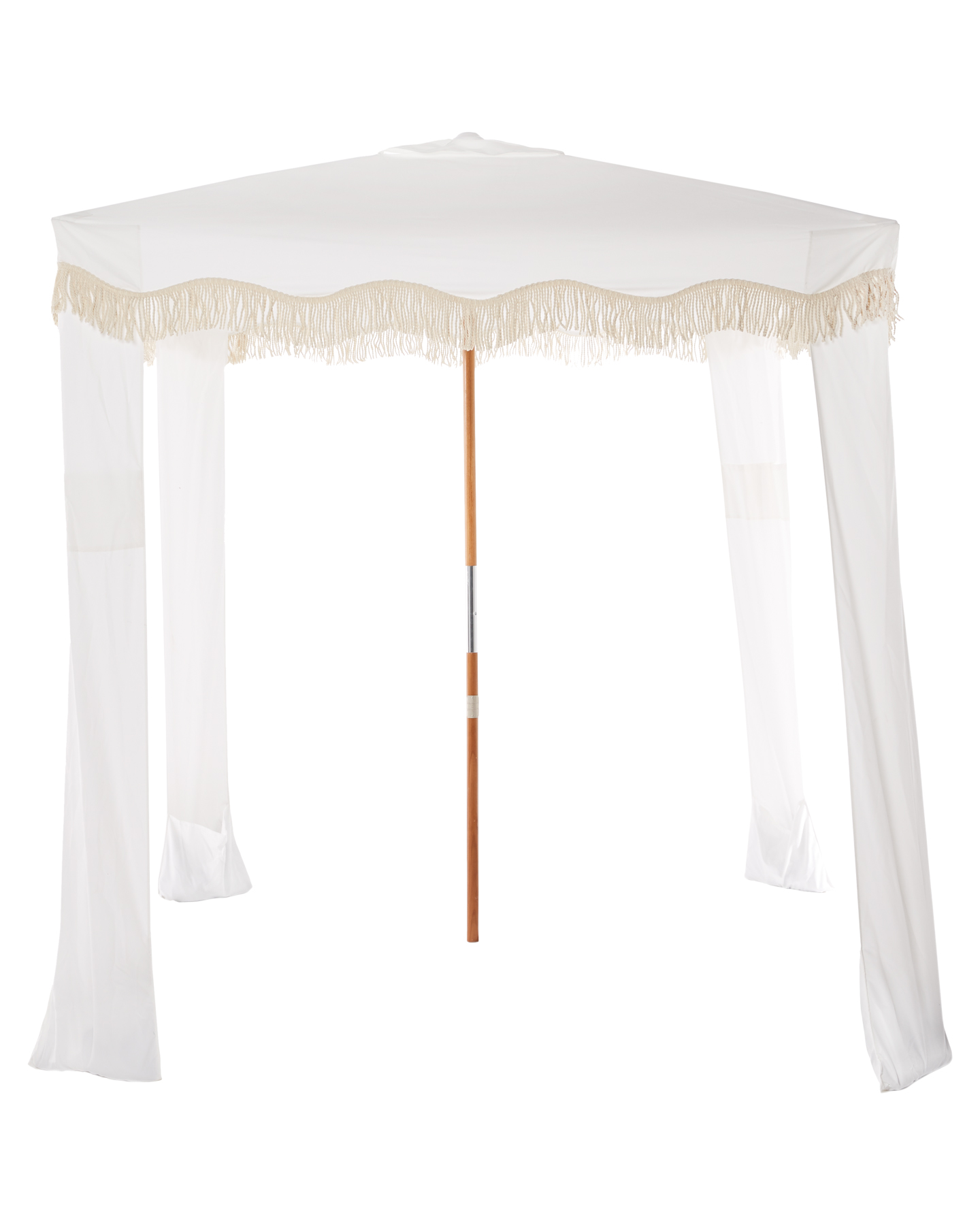 Business And Pleasure Co Premium Beach Cabana Antique White