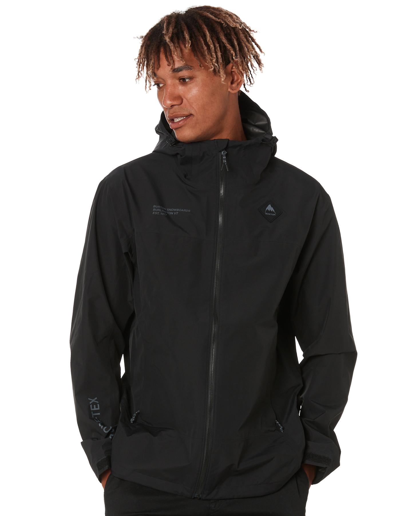 Burton Gore Packrite Mens Jacket True Black
