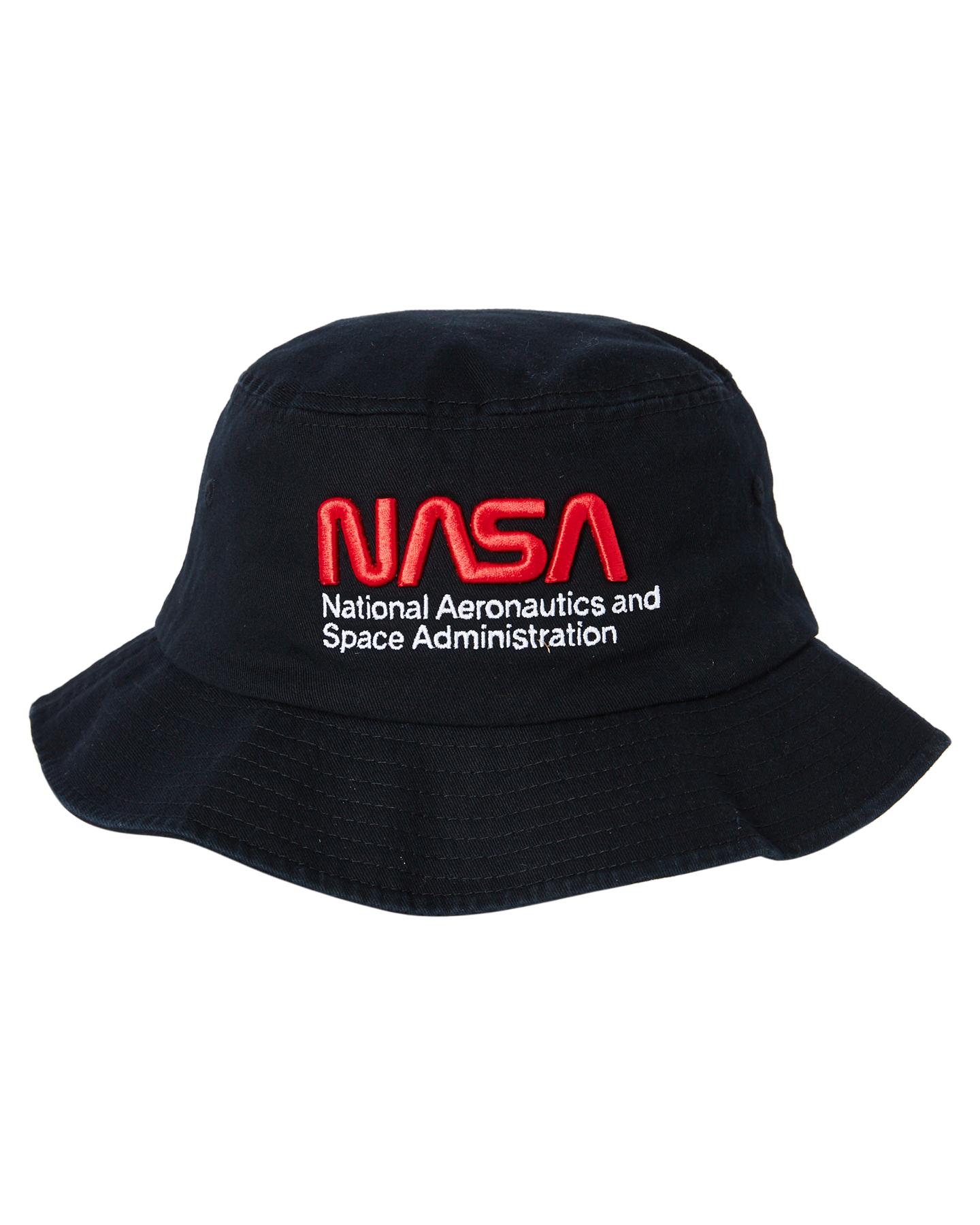 American Needle Nasa Bucket Black