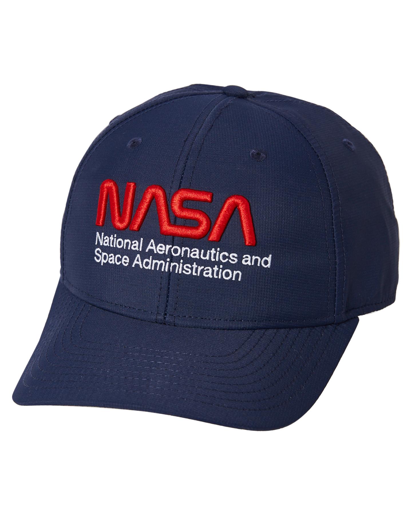 American Needle Nasa Aero Bruxton Navy Navy