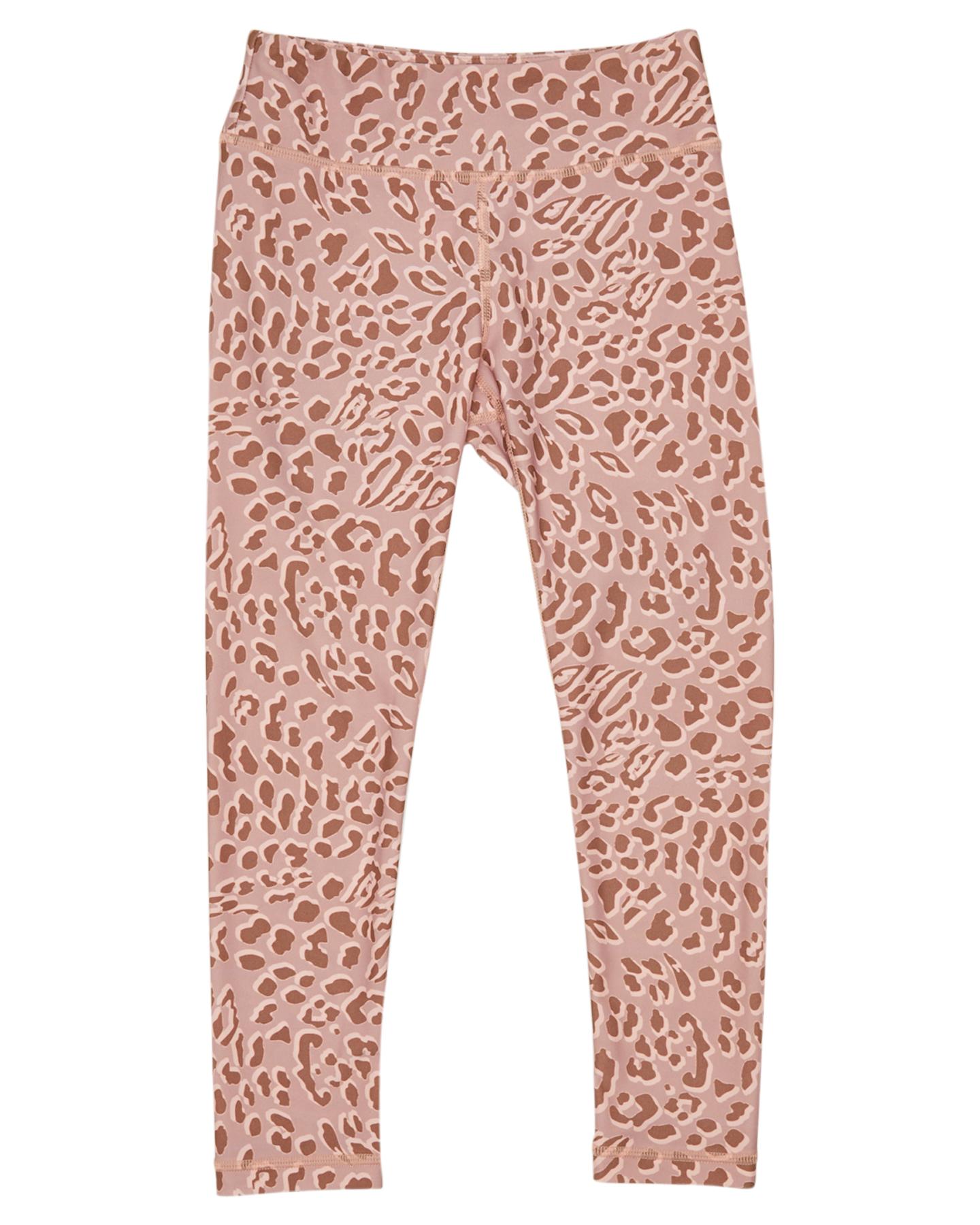 Munster Kids Girls Dusty Leopard Legging - Kids Dusty Leopard Dusty Leopard