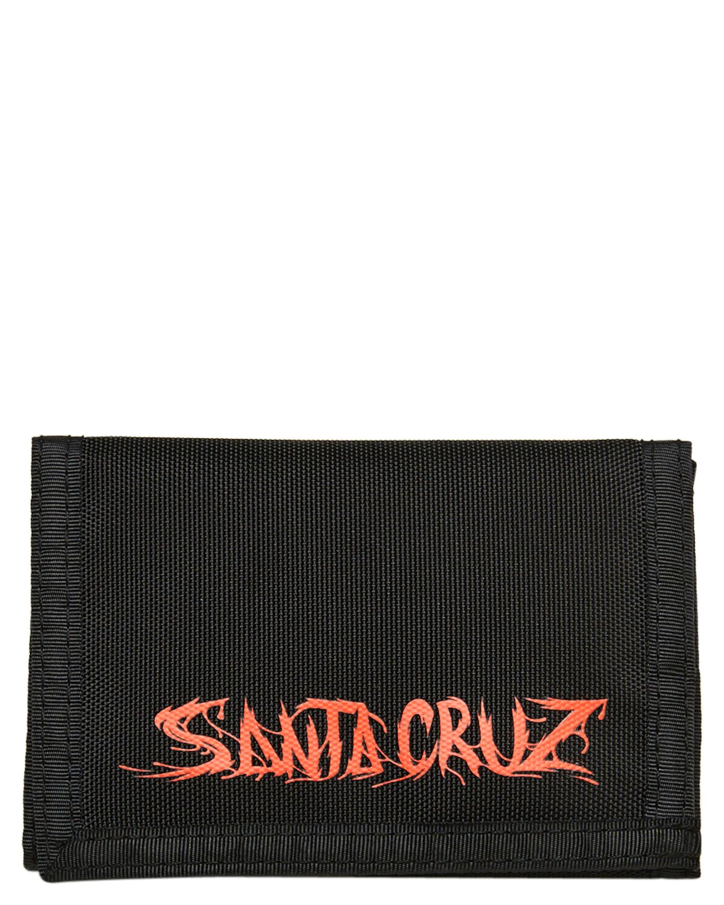 Santa Cruz Boys Rat Slasher Velcro Wallet Black