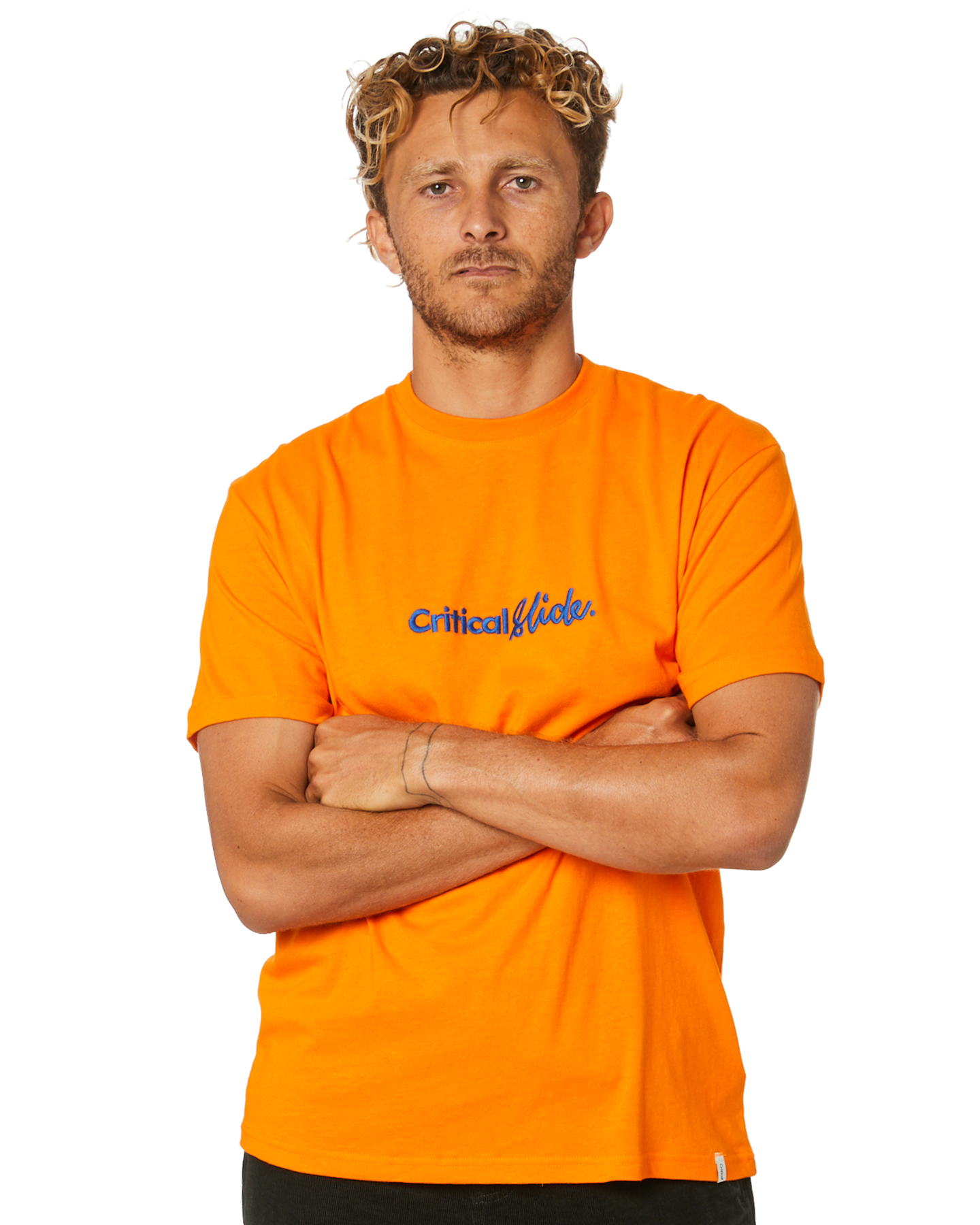 The Critical Slide Society Institute Mens Tee Orange Popsicle