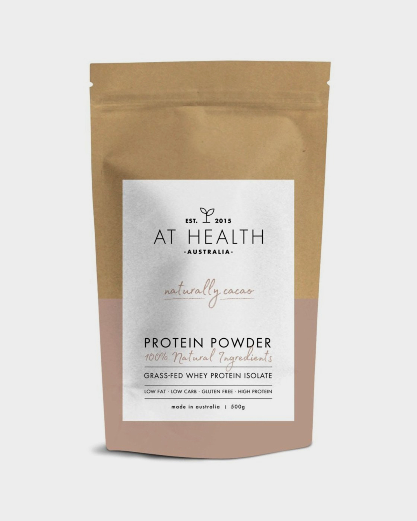 At Health Naturally Cacao Grass-Fed Whey Protein Cacao Cacao