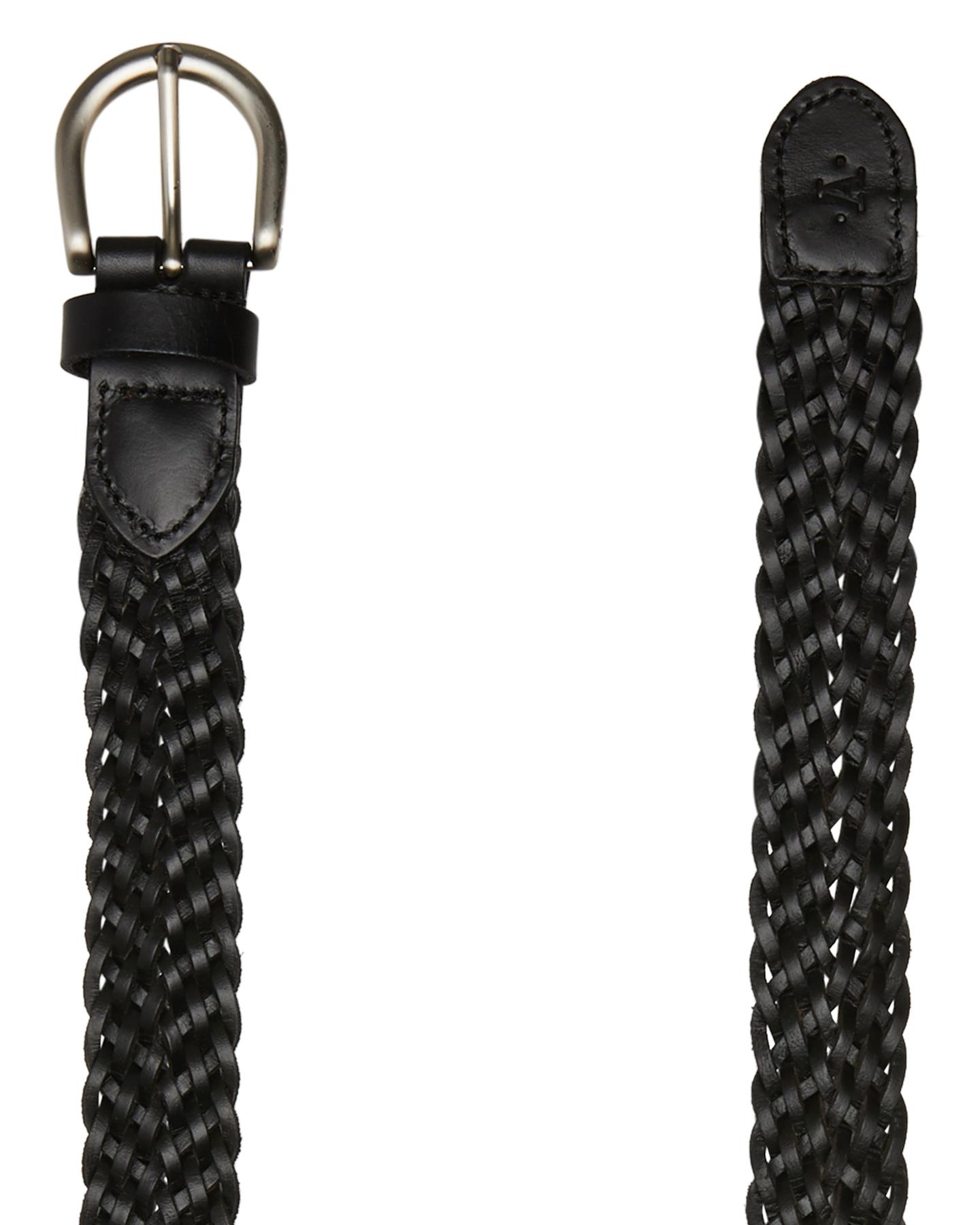 Atlas Lifestyle Co Leather Belt Black