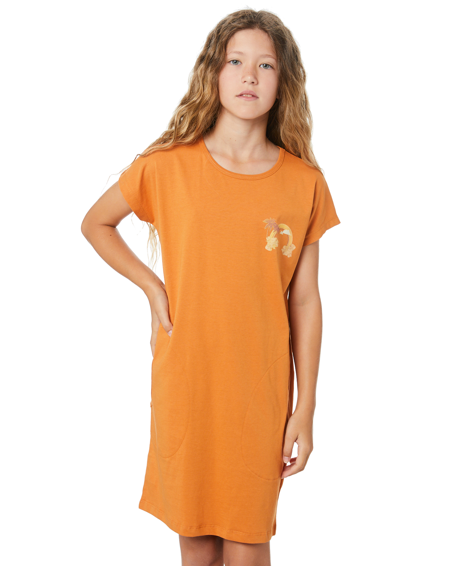 Munster Kids Girls Treasure Dress - Teen Desert Sun Desert Sun