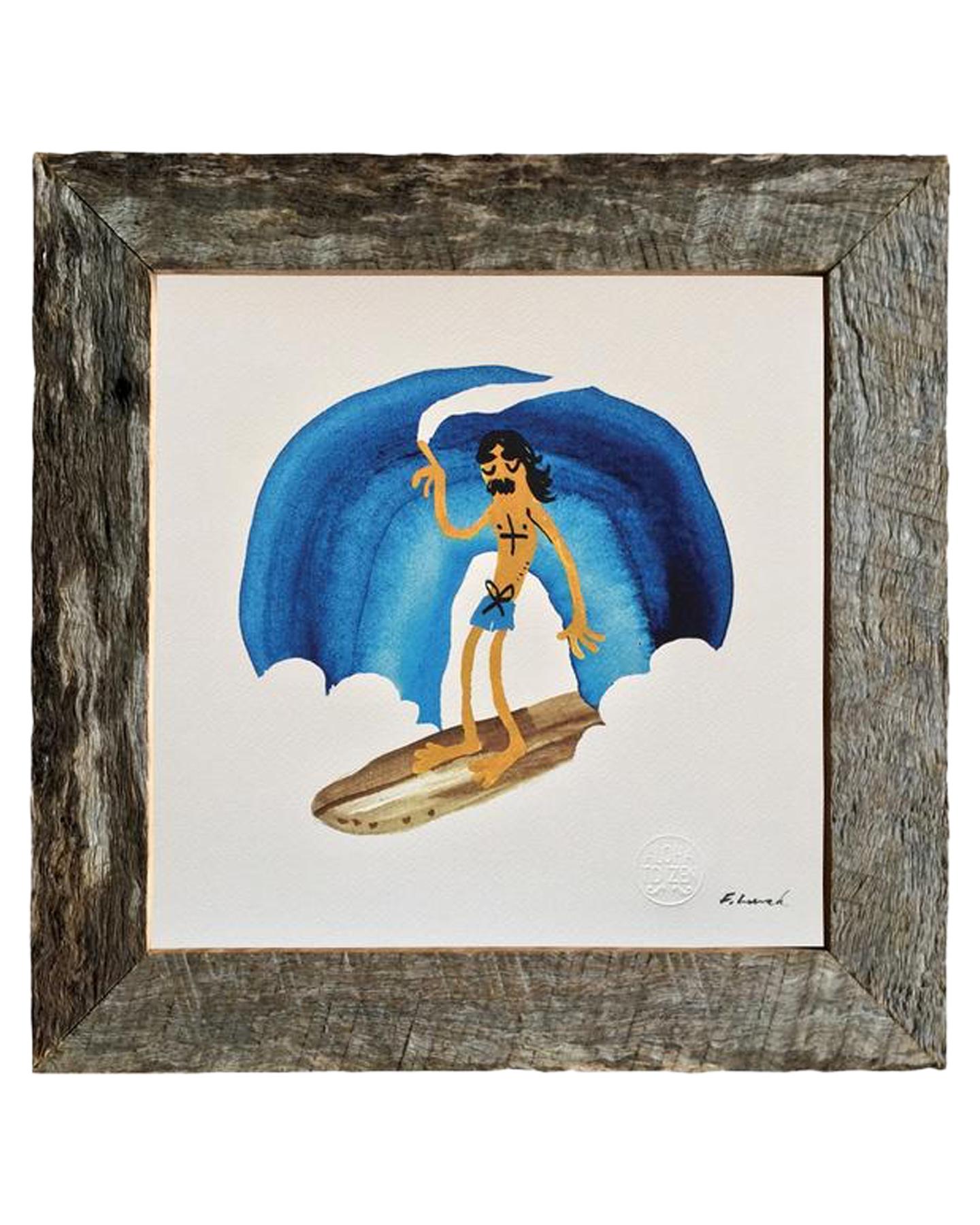 Aloha Zen Rainbow Slide Print