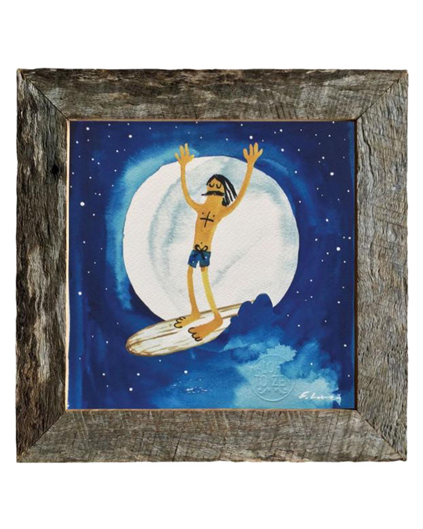 Aloha Zen Night Rider Print