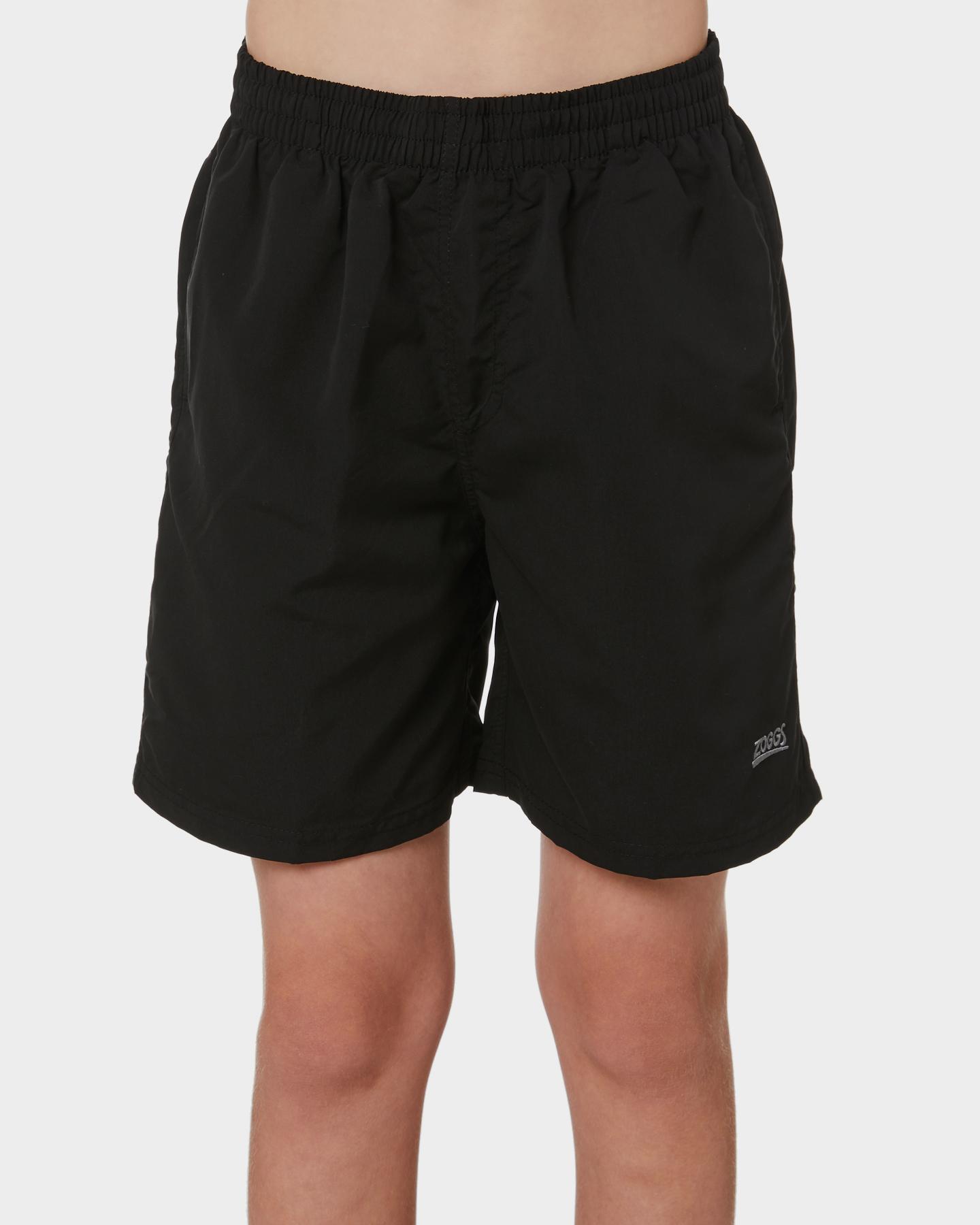 Zoggs Boys Penrith Beach Short - Teens Black
