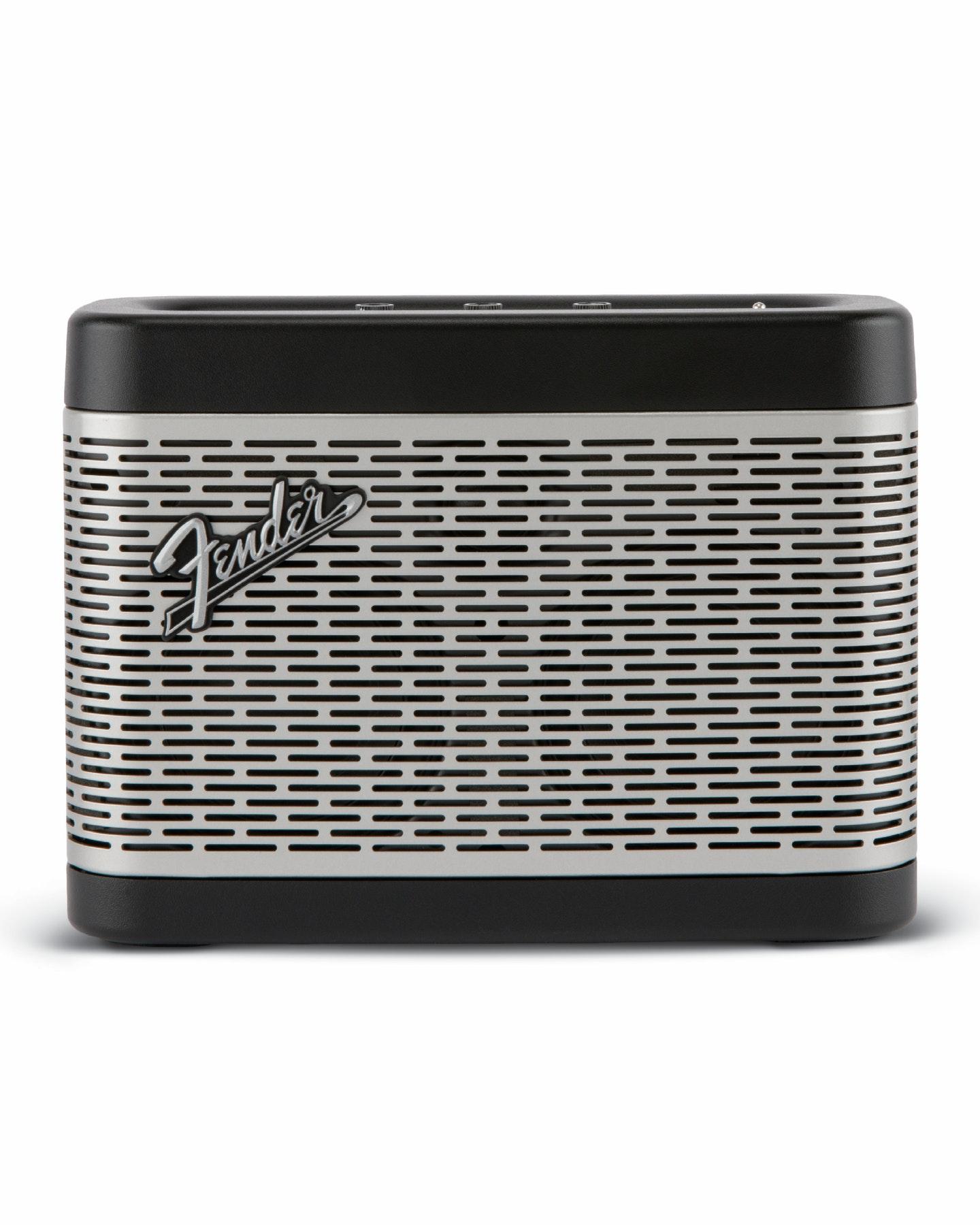 Fender Newport Bluetooth Speaker Black Silver