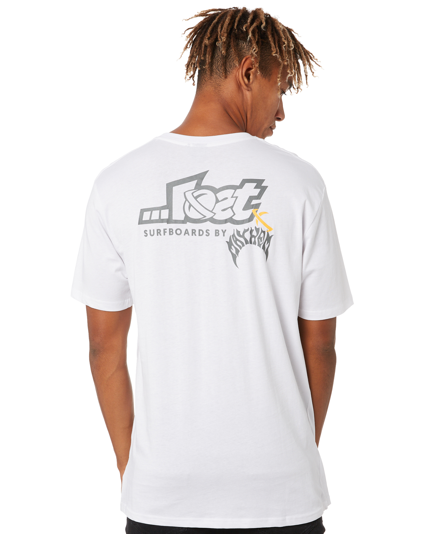 Lost Link Mens Tee White
