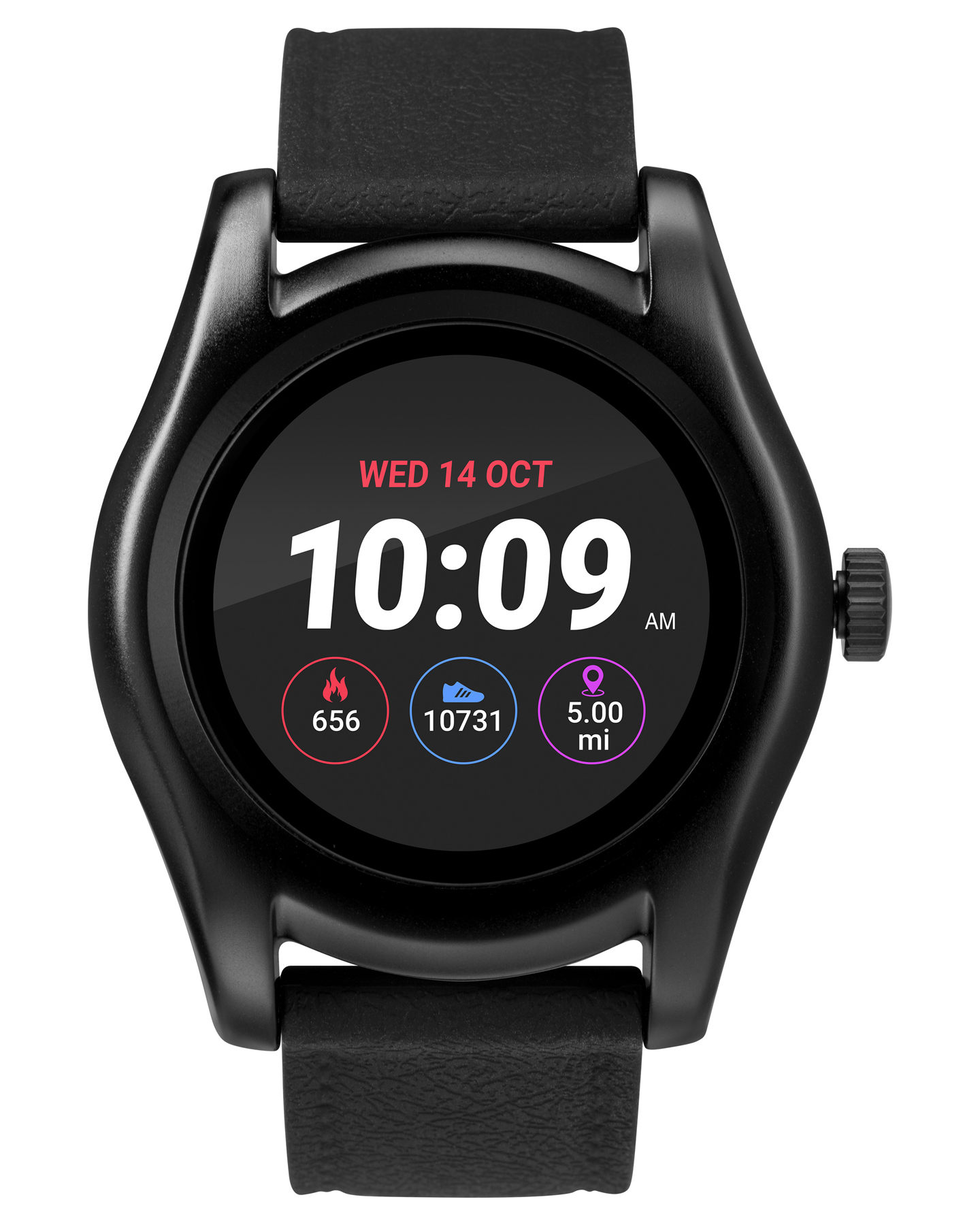 Iconnect By Timex Iconnect Classic Smart Watch Black