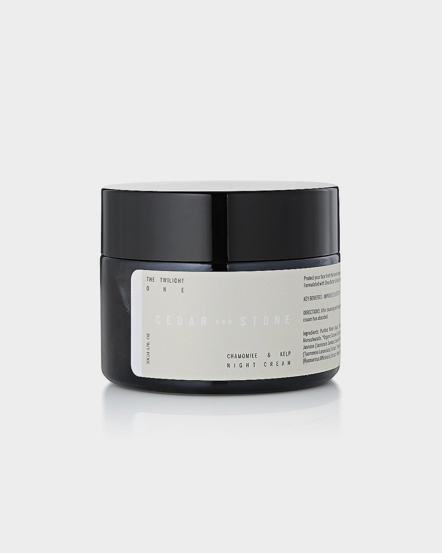 Cedar And Stone The Twilight One Chamomile And Kelp Night Cream Natural