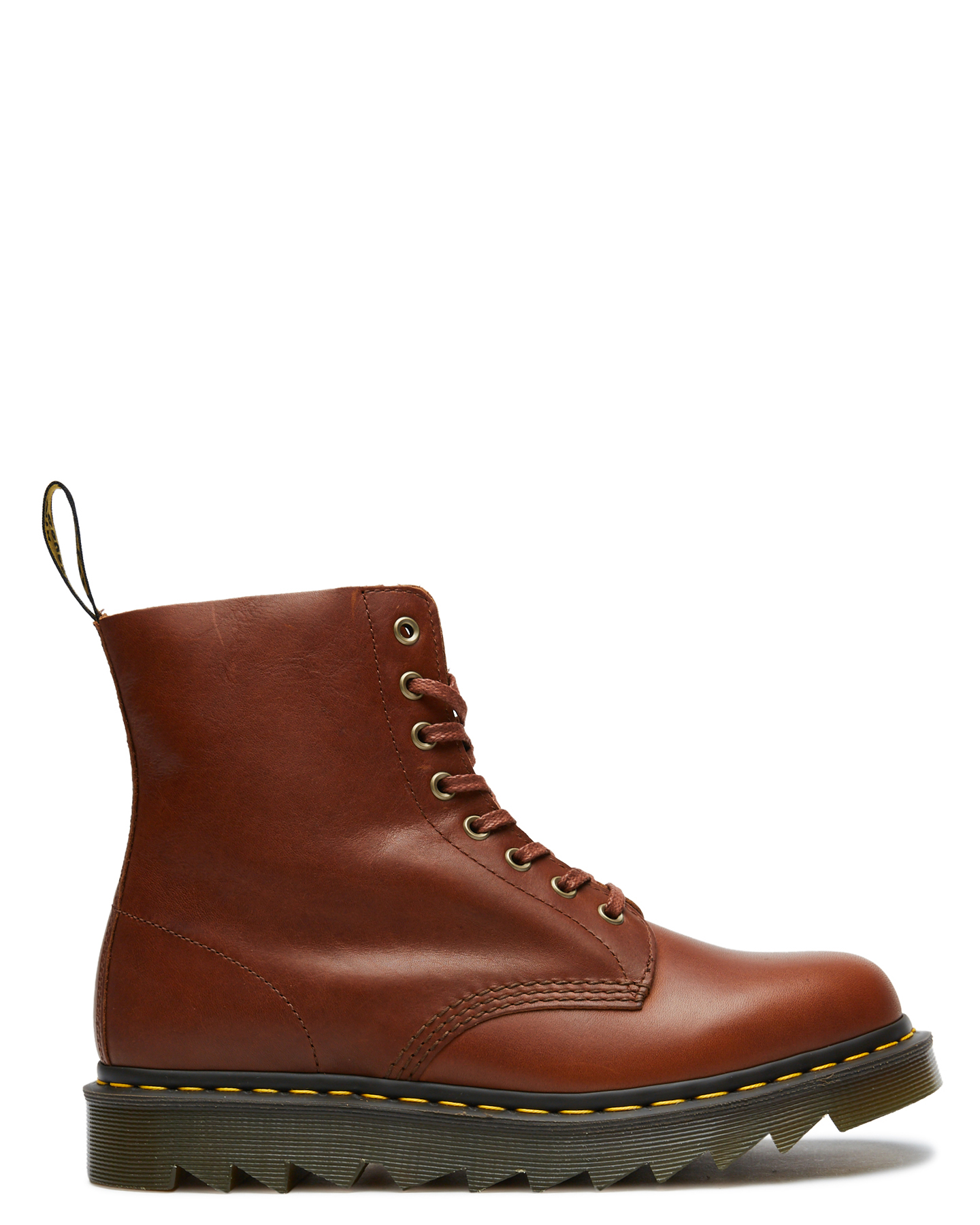 Dr. Martens Mens 1460 Pascal Ziggy 8 Eye Boot Tan Tan