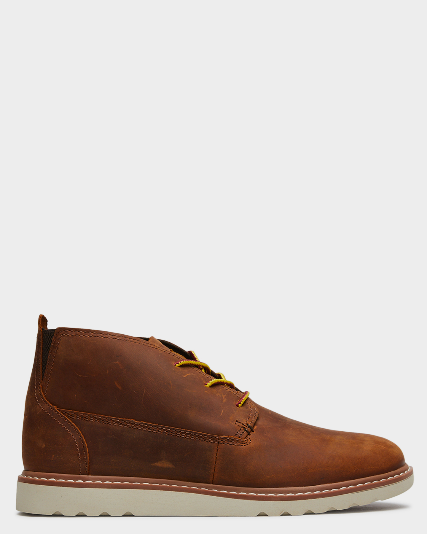 Reef Mens Voyage Leather Boot Brown