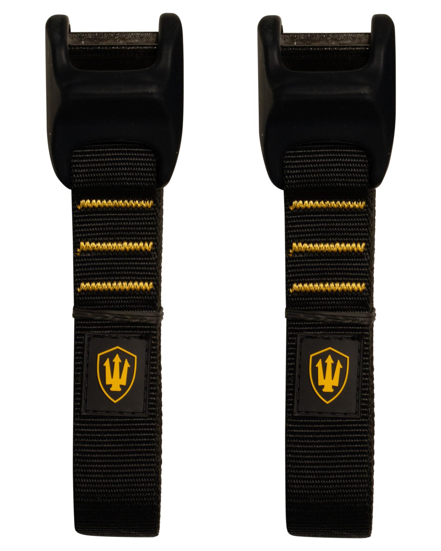 Far King 3.65M Tie Downs Silicon Protect Black