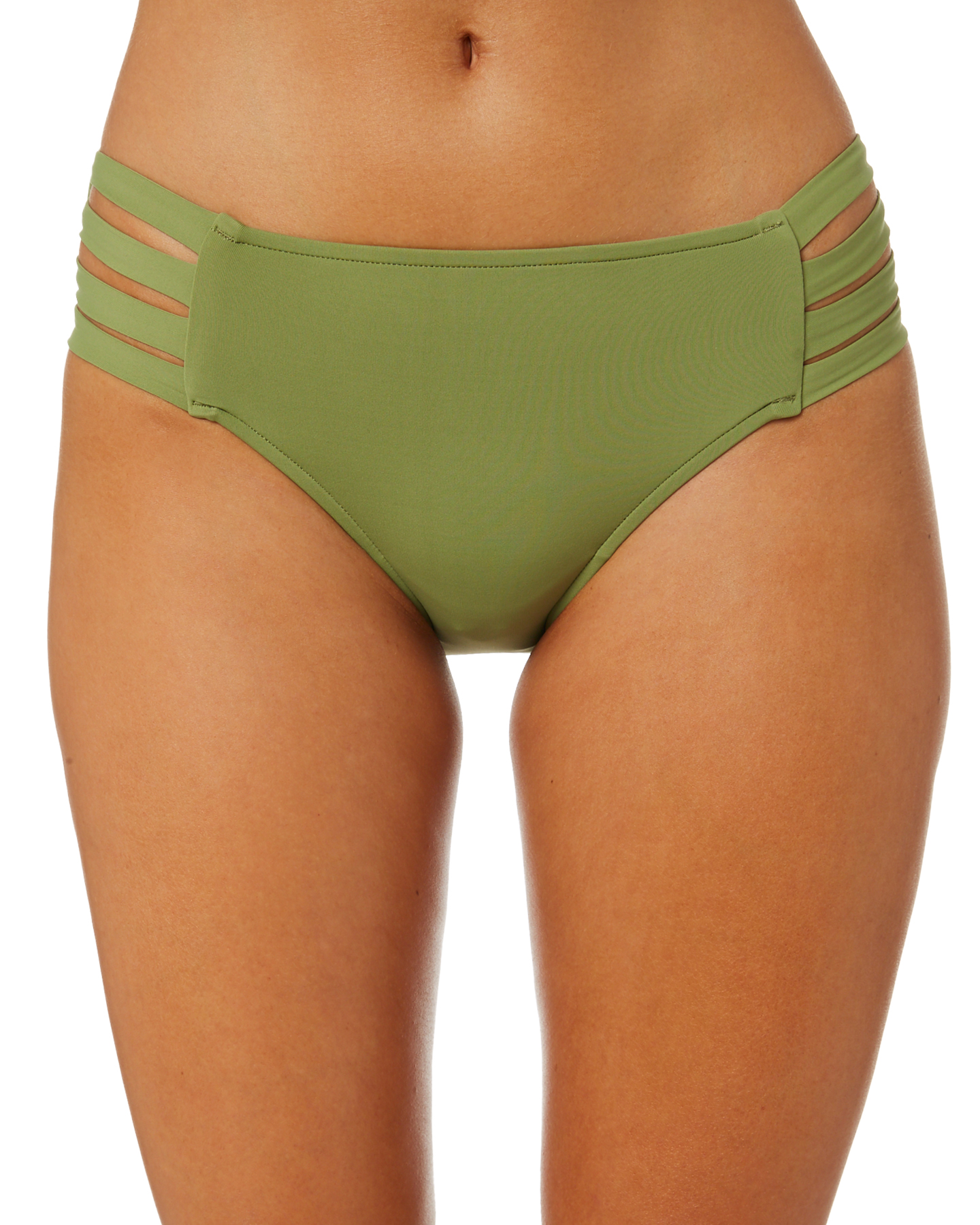 Seafolly Active Multi Strap Hipster Separate Pant Moss Moss
