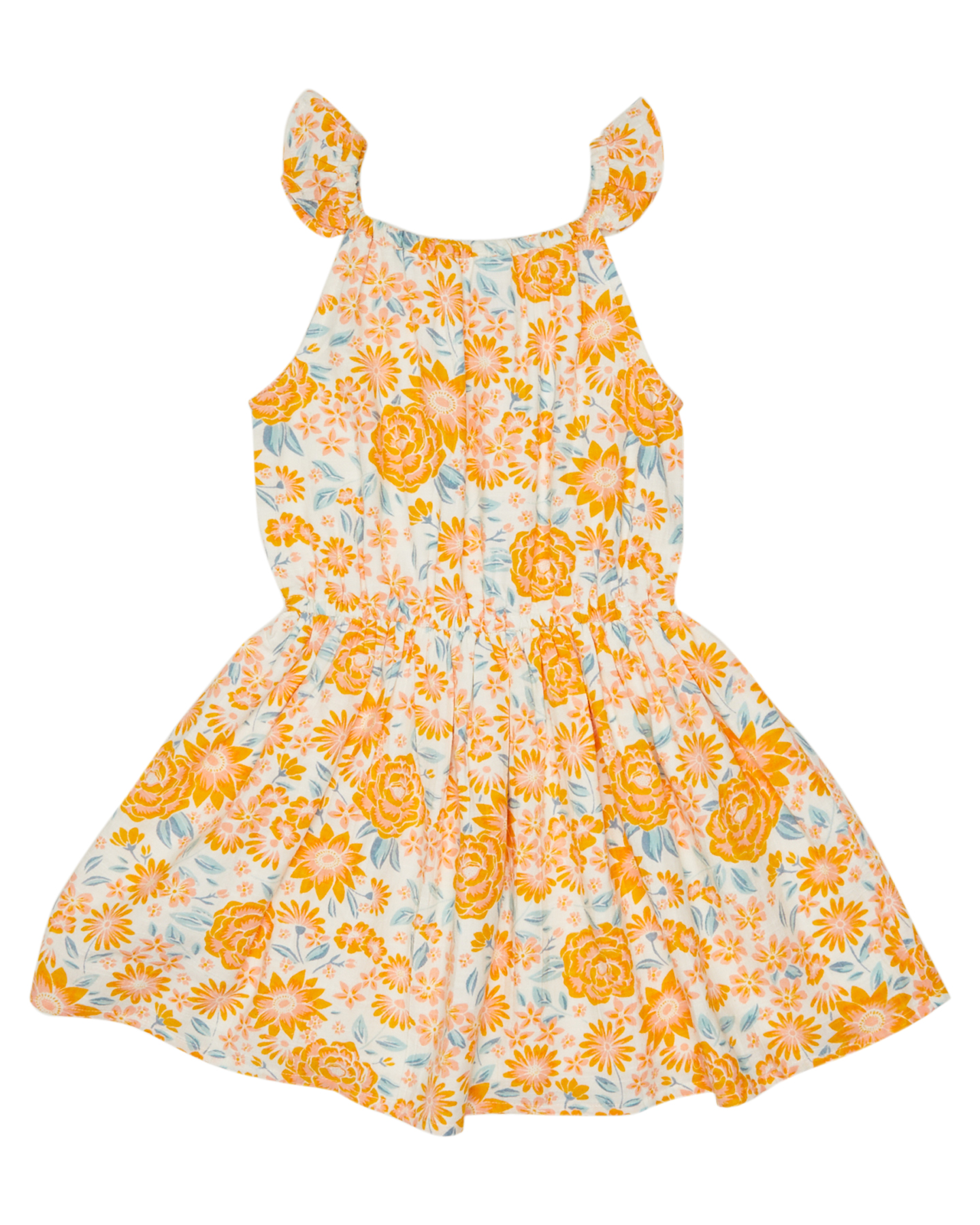 Eves Sister Girls Summer Fields Dress Kids Summer Fields Print