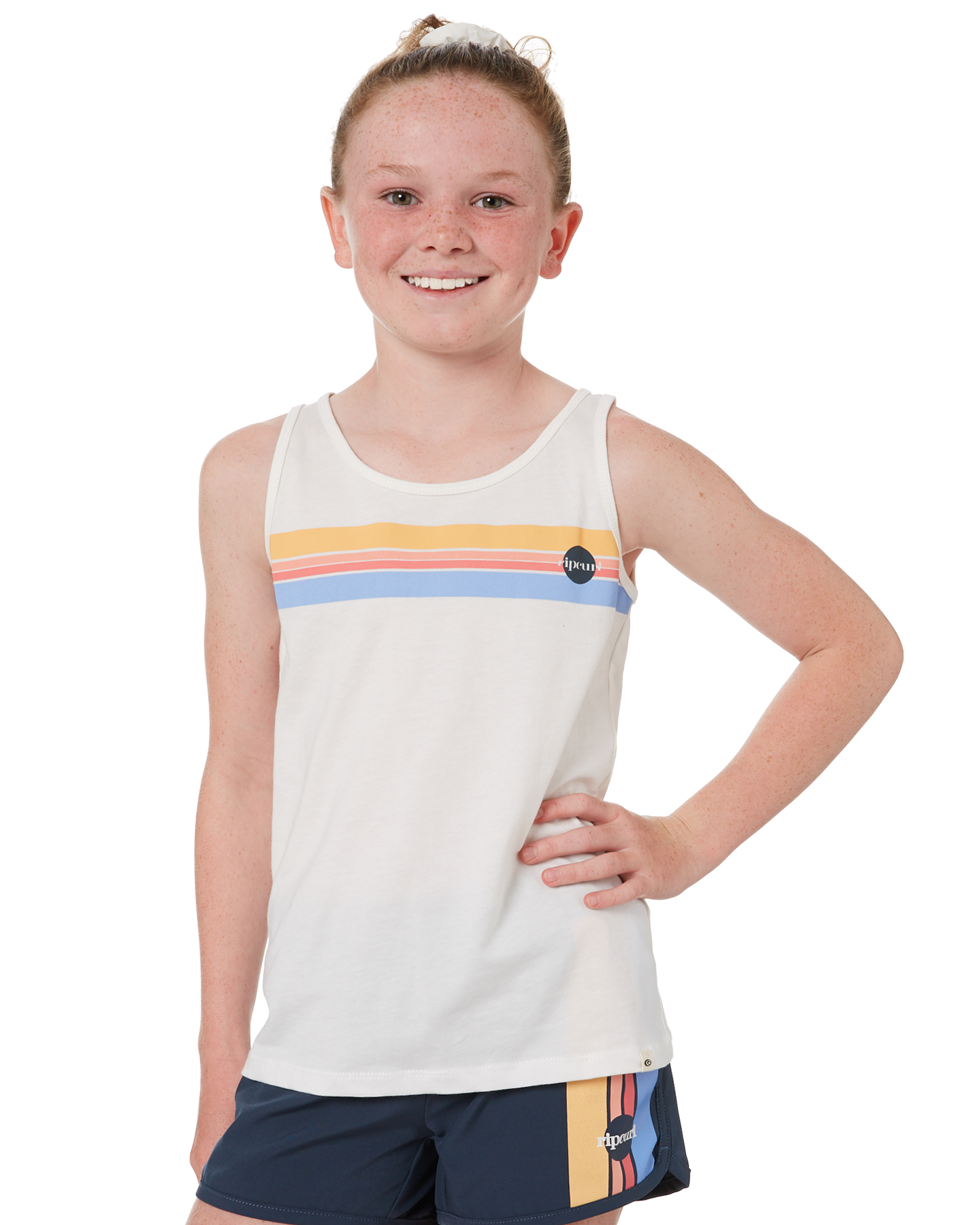 Rip Curl Girls Golden State Tank - Teen Bone Bone