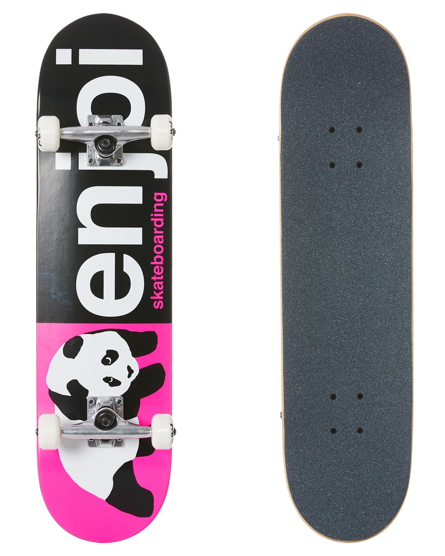 Enjoi Half And Half 8 Inch Complete Skateboard Pink