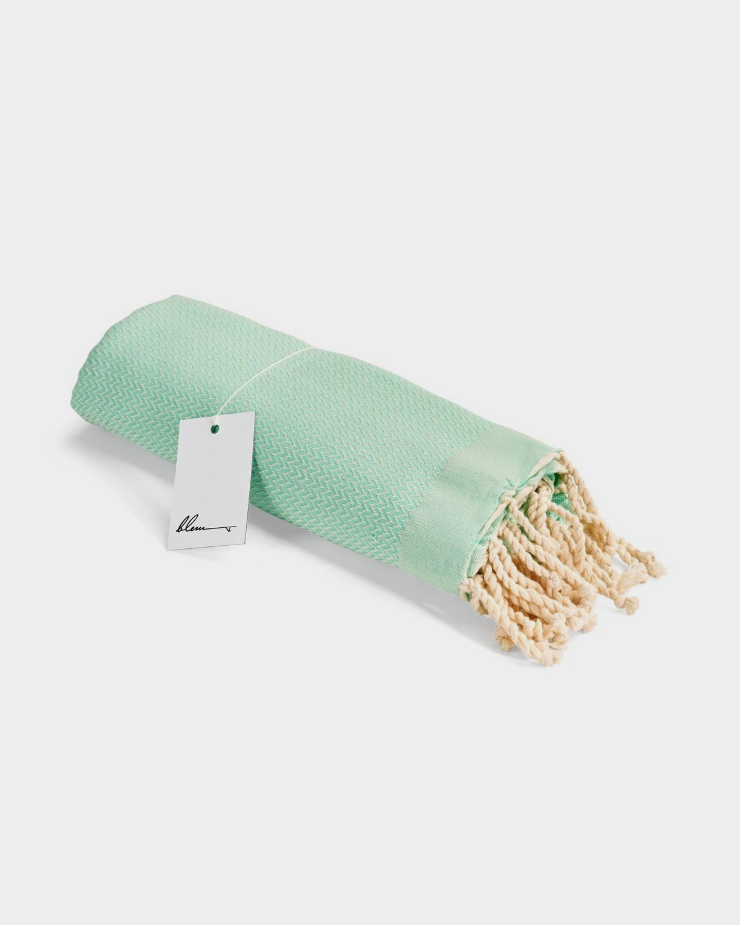 Blem Beach Accessories Mint Lime Luxe Collection Towel Lime Lime