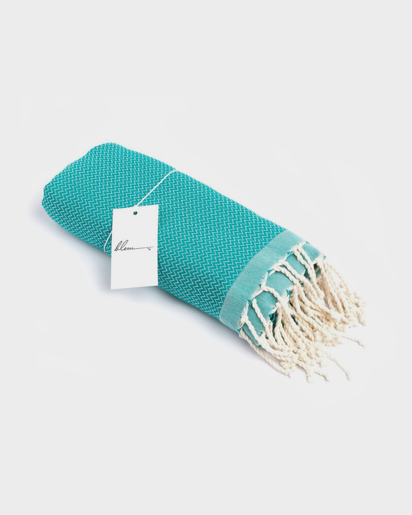 Blem Beach Accessories Turquoise Luxe Collection Towel Turquoise Turquoise