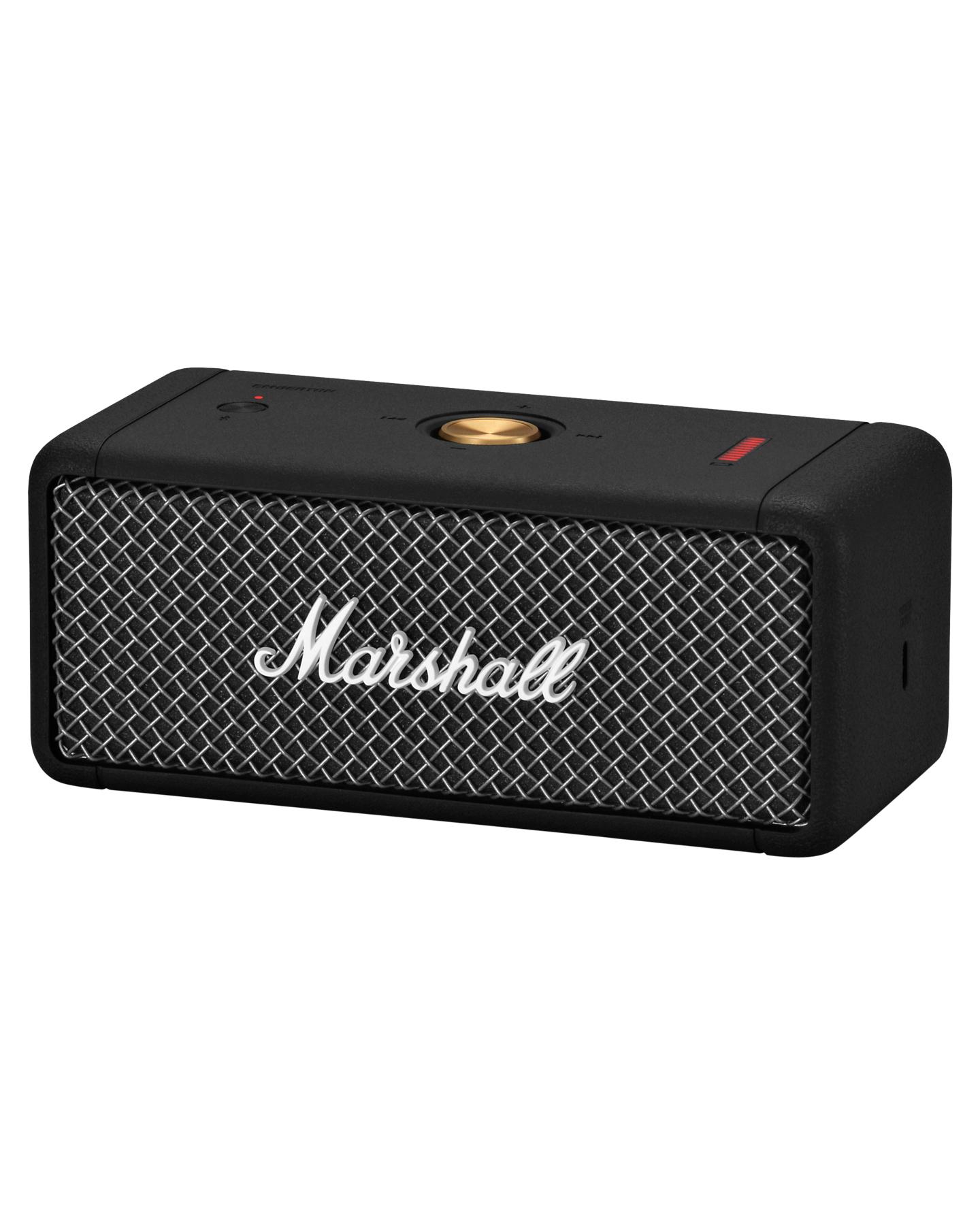 Marshall Emberton Bluetooth Speaker Black