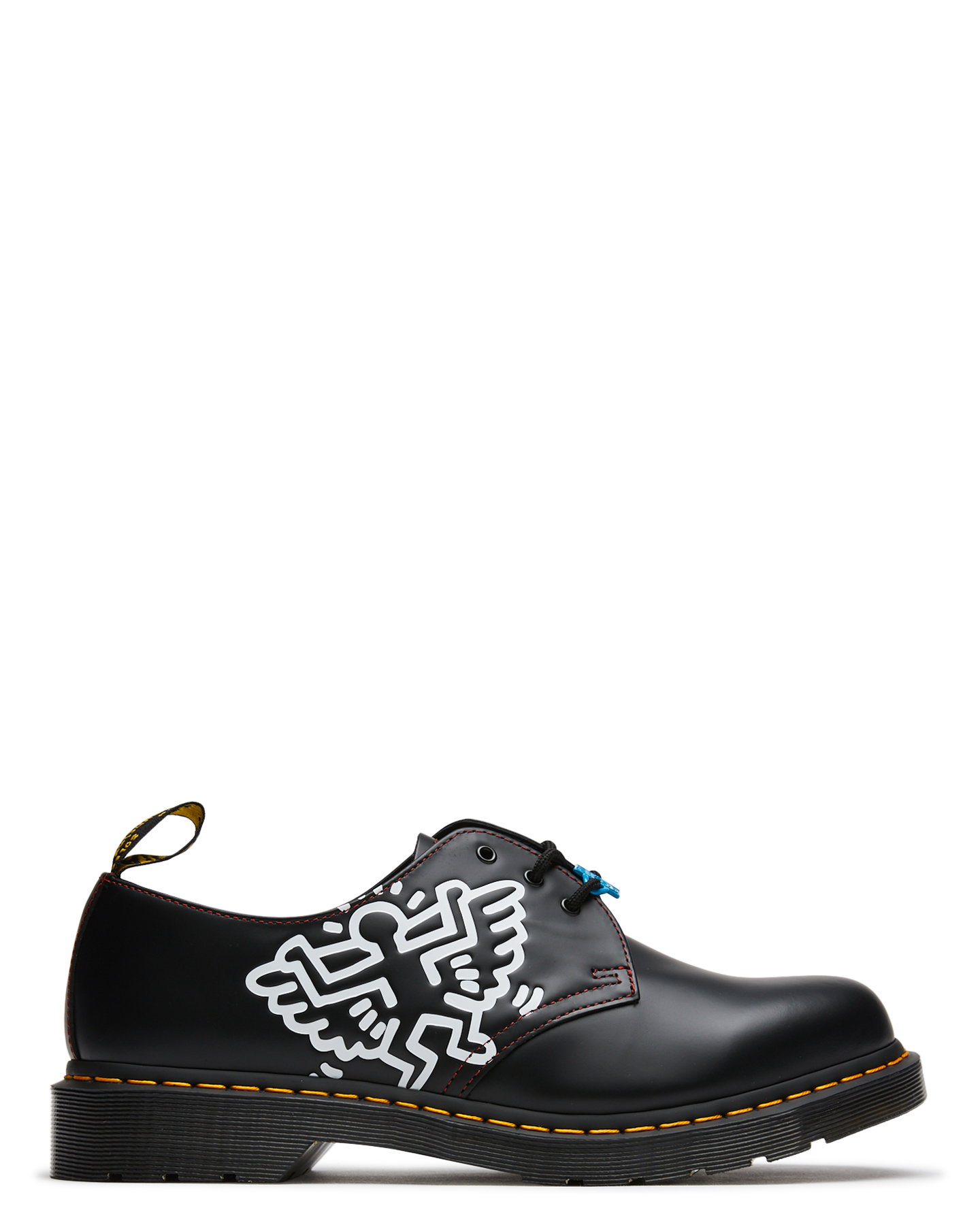 Dr. Martens Womens X Keith Haring 1461 Shoe Black