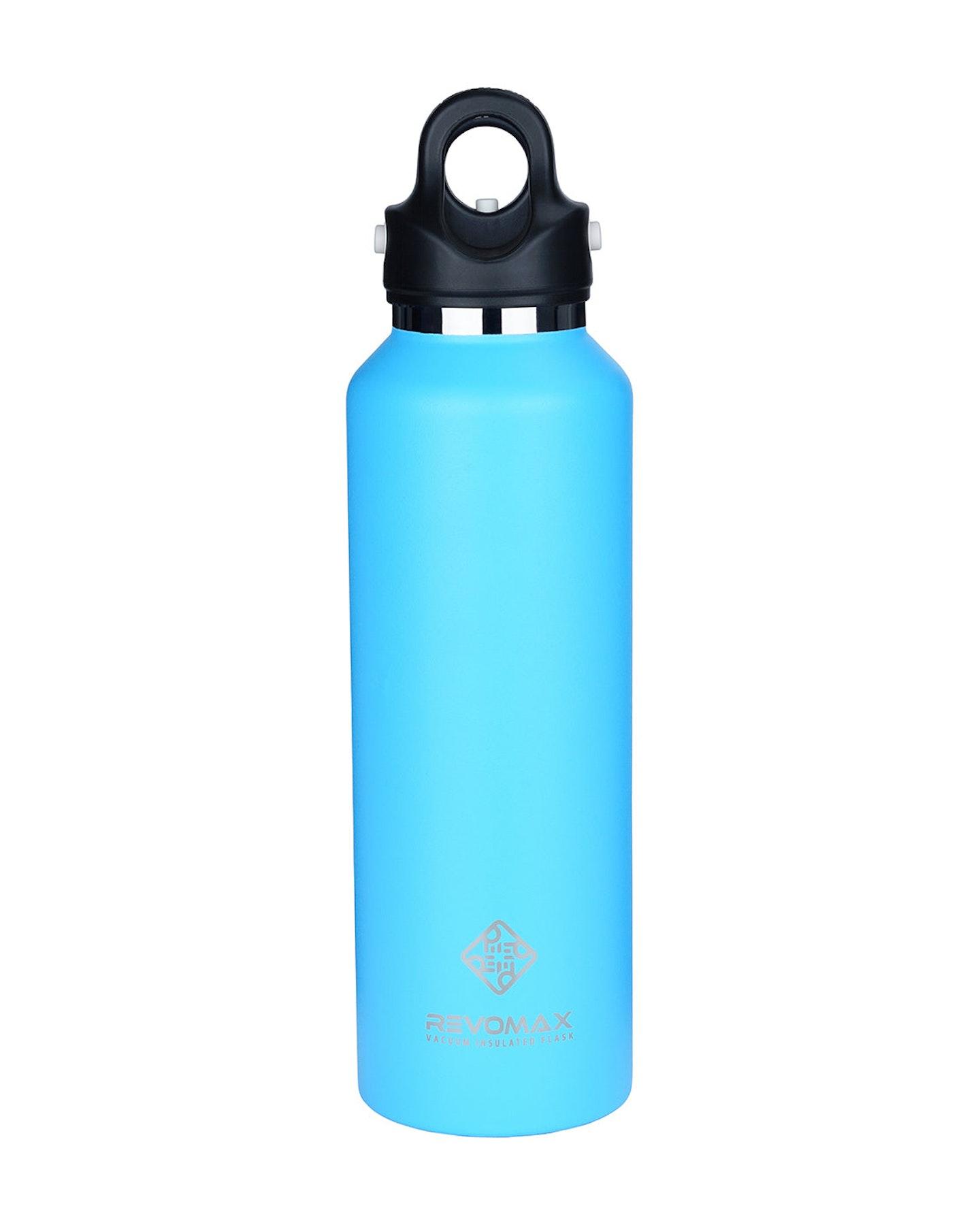 Revomax 592Ml - 20Oz Insulated Flask Drink Bottle Light Blue