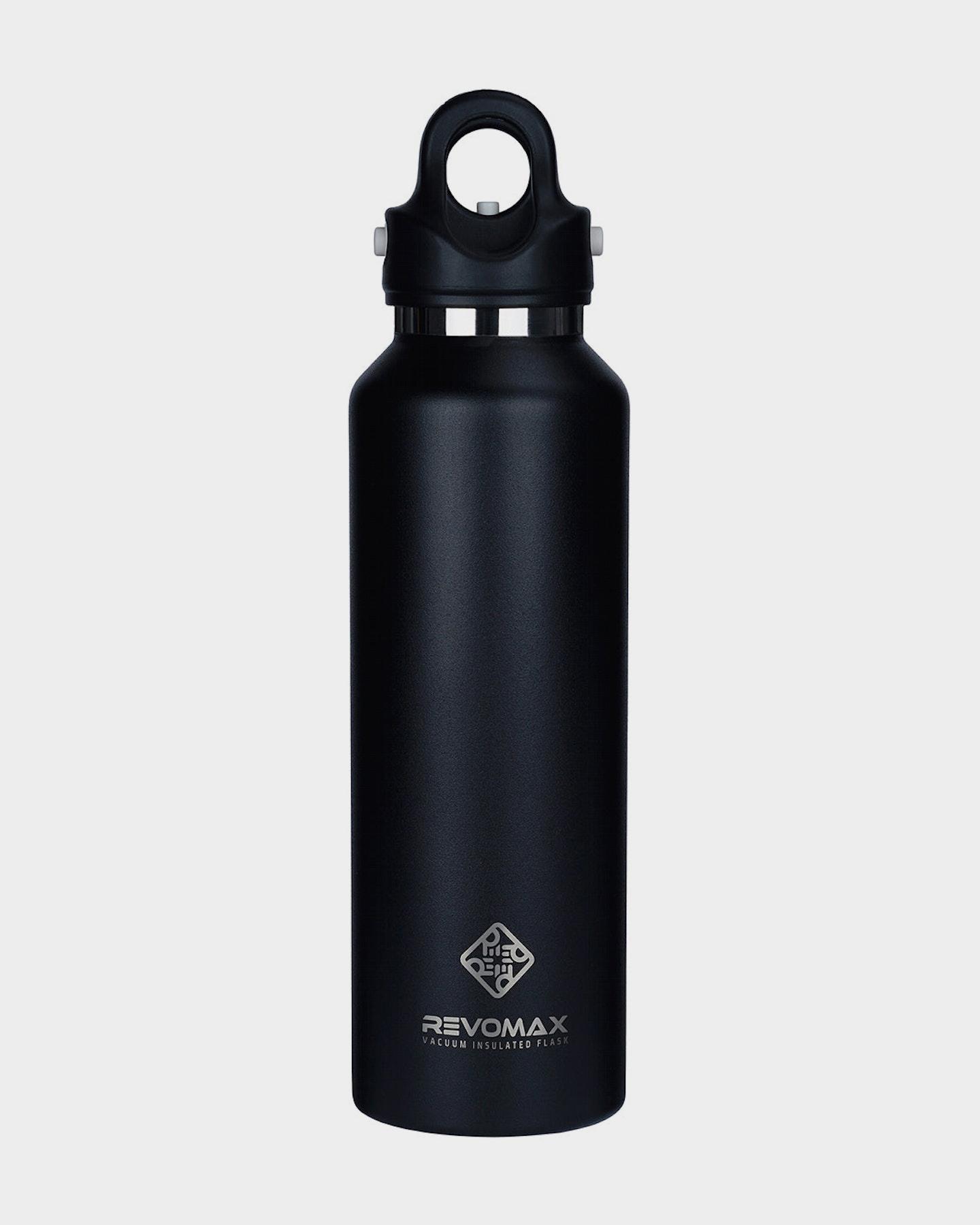 Revomax 592Ml - 20Oz Insulated Flask Drink Bottle Onyx Black
