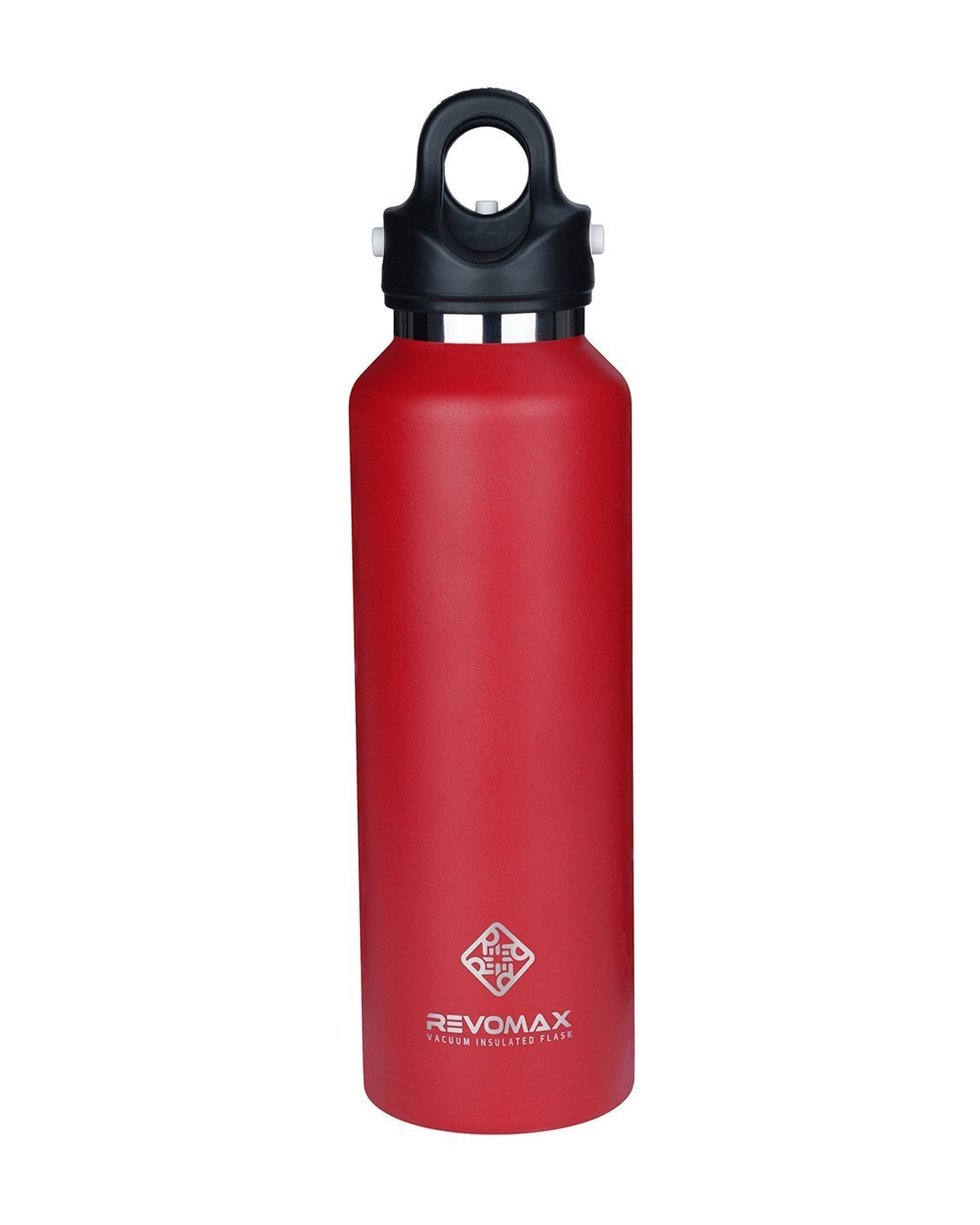 Revomax 592Ml - 20Oz Insulated Flask Drink Bottle Fire Red