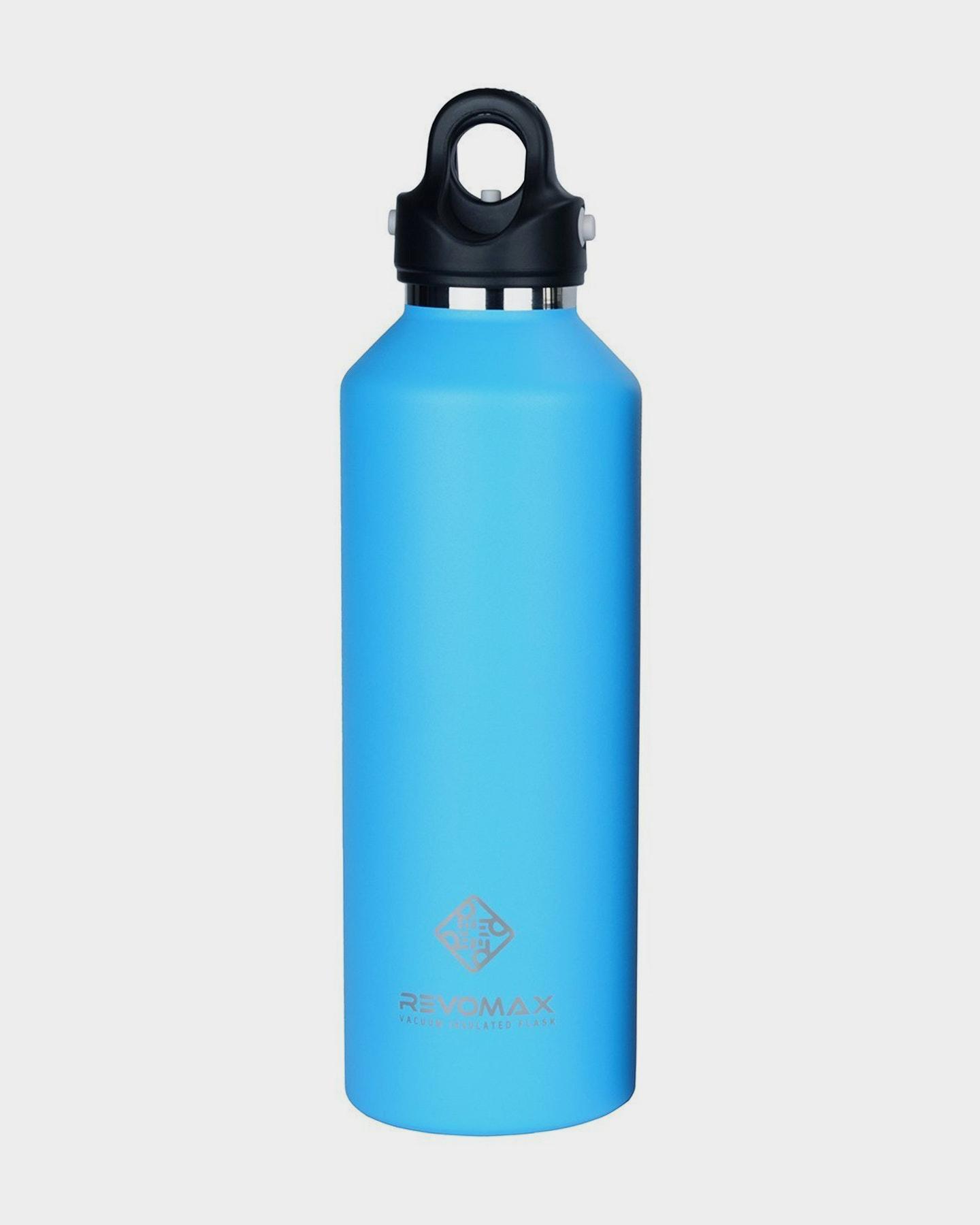 Revomax 950Ml - 32Oz Insulated Flask Drink Bottle Light Blue