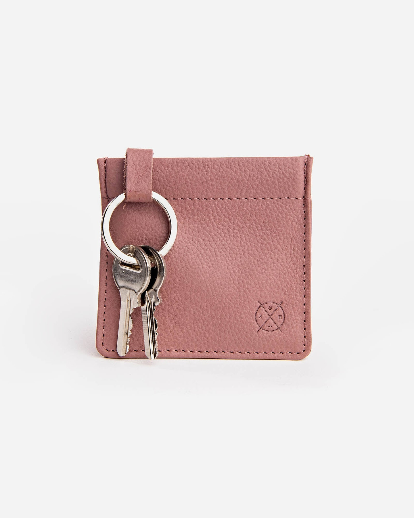 Stitch And Hide Key Pouch Dusty Rose Dusty Rose