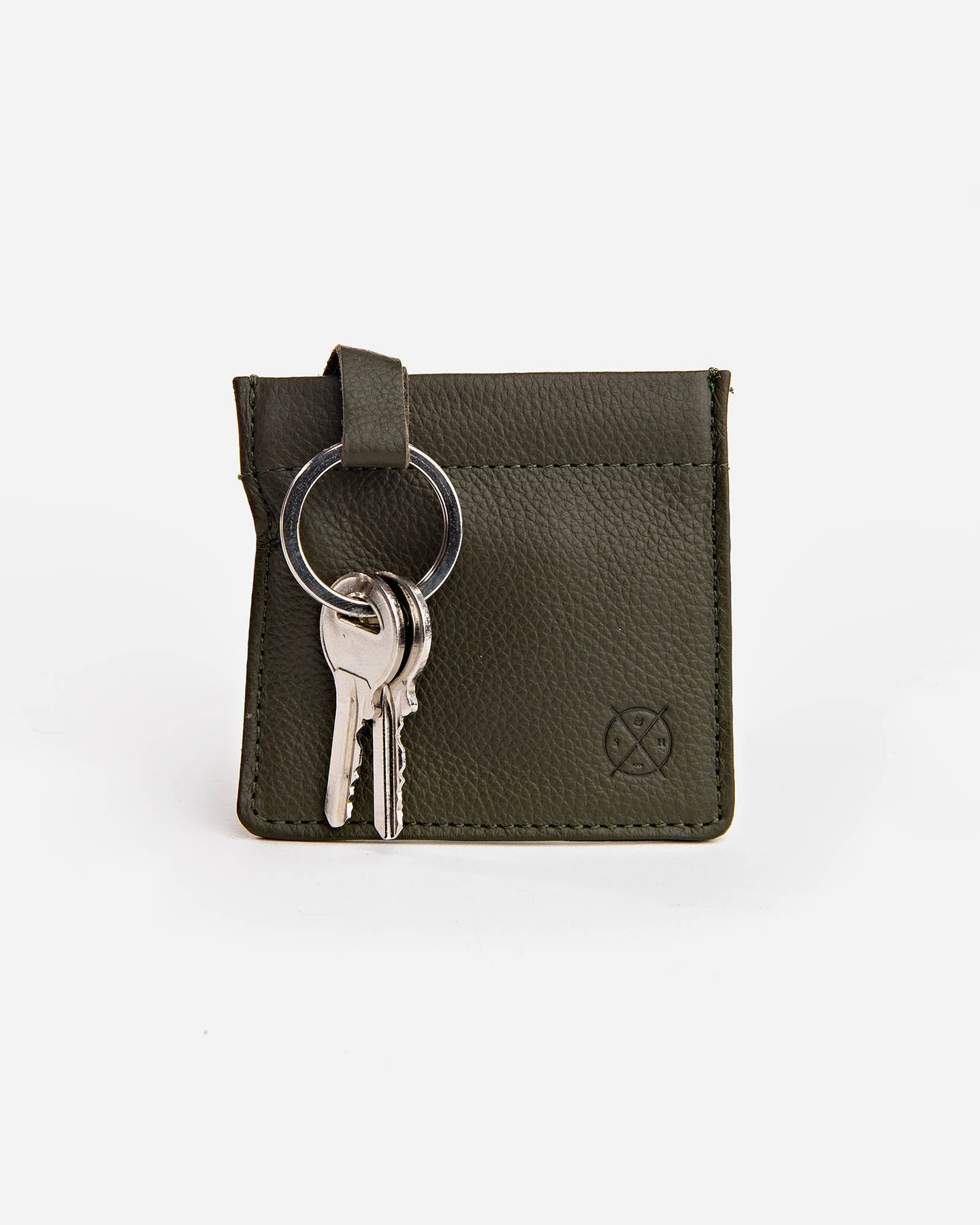 Stitch And Hide Key Pouch Olive Olive