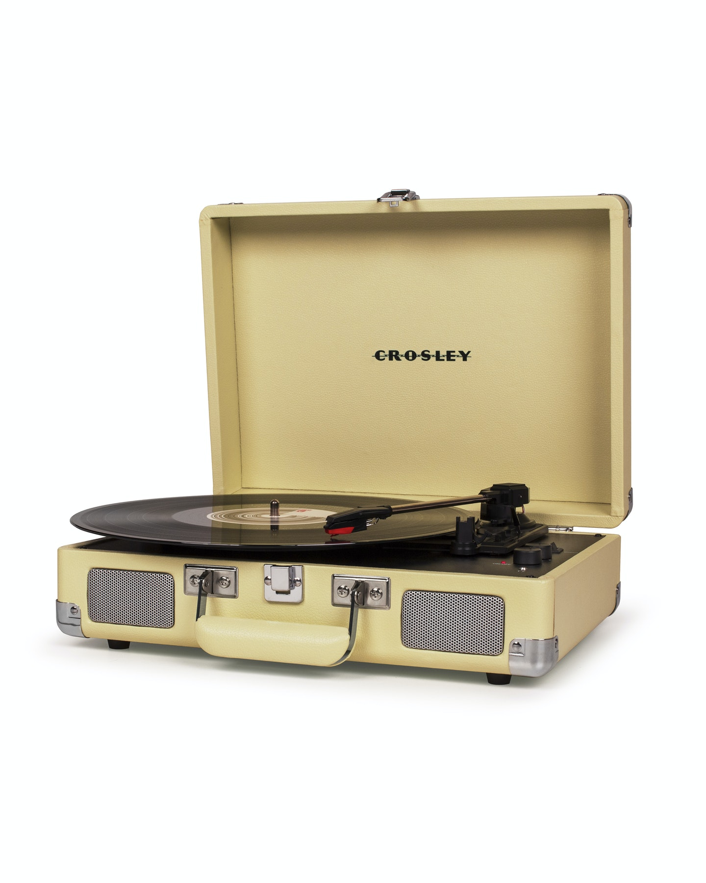 Crosley Crosley Cruiser Deluxe Portable Turntable Fawn Fawn